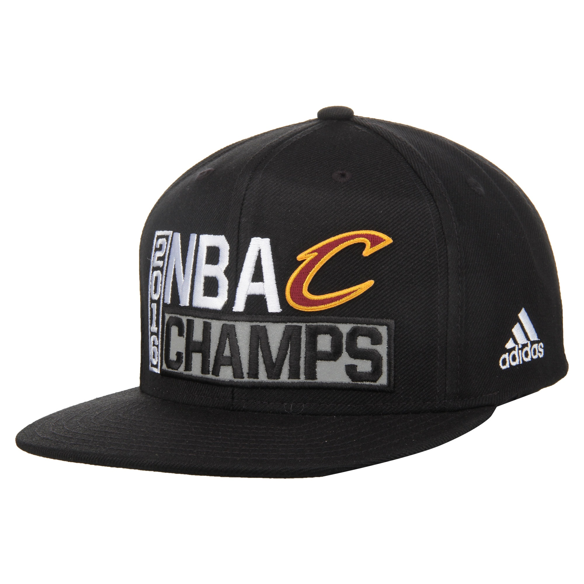 Cleveland Cavaliers adidas 2016 NBA Finals Champions Locker Room Snapback Adjustable Hat - Black