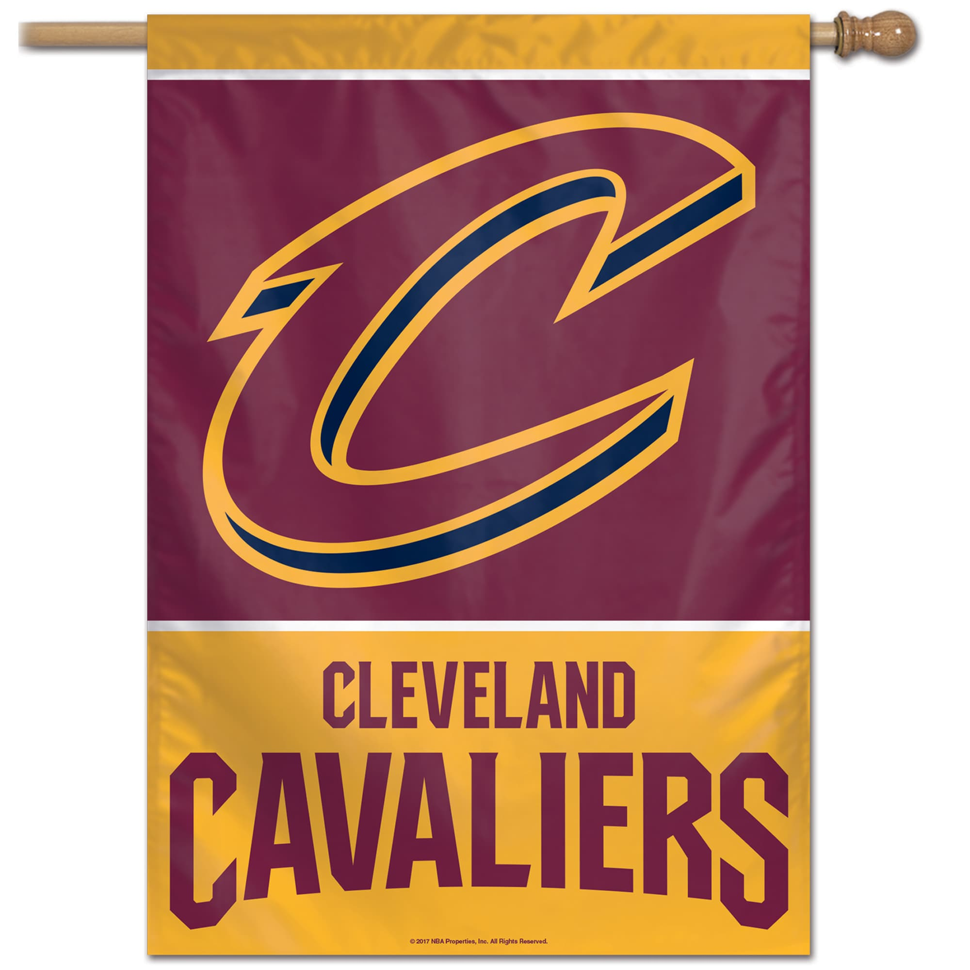 """Cleveland Cavaliers WinCraft 28"""" x 40"""" Single-Sided Vertical Banner"""