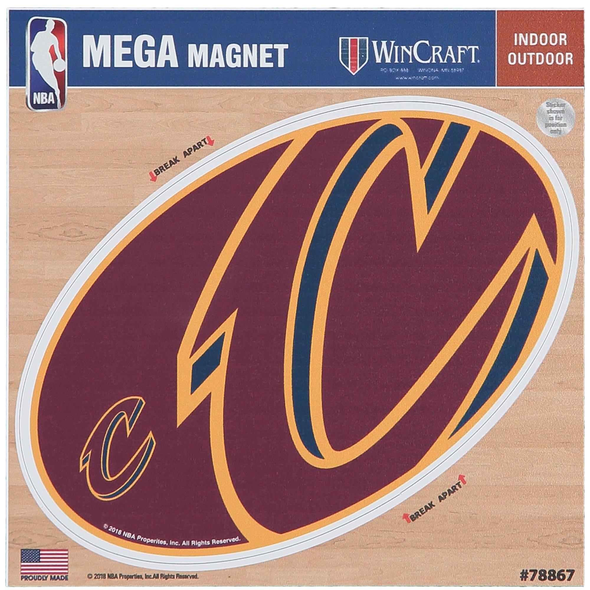 "Cleveland Cavaliers 6"" x 6"" Mega Magnet"