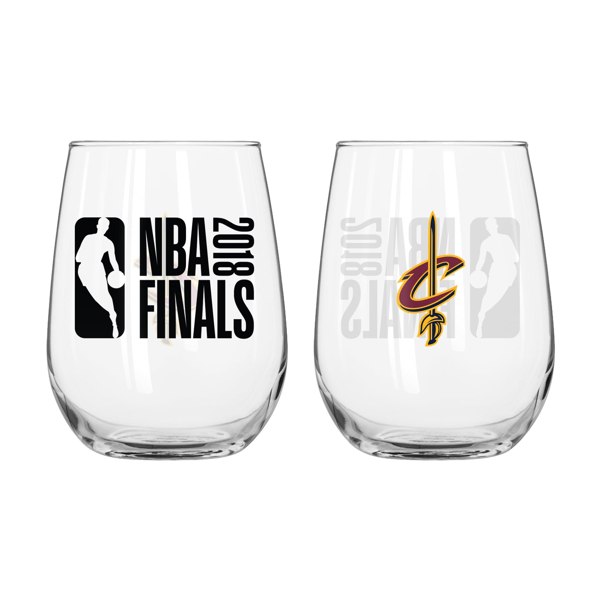 Cleveland Cavaliers 2018 NBA Finals Bound 12oz. Stemless Wine Glass
