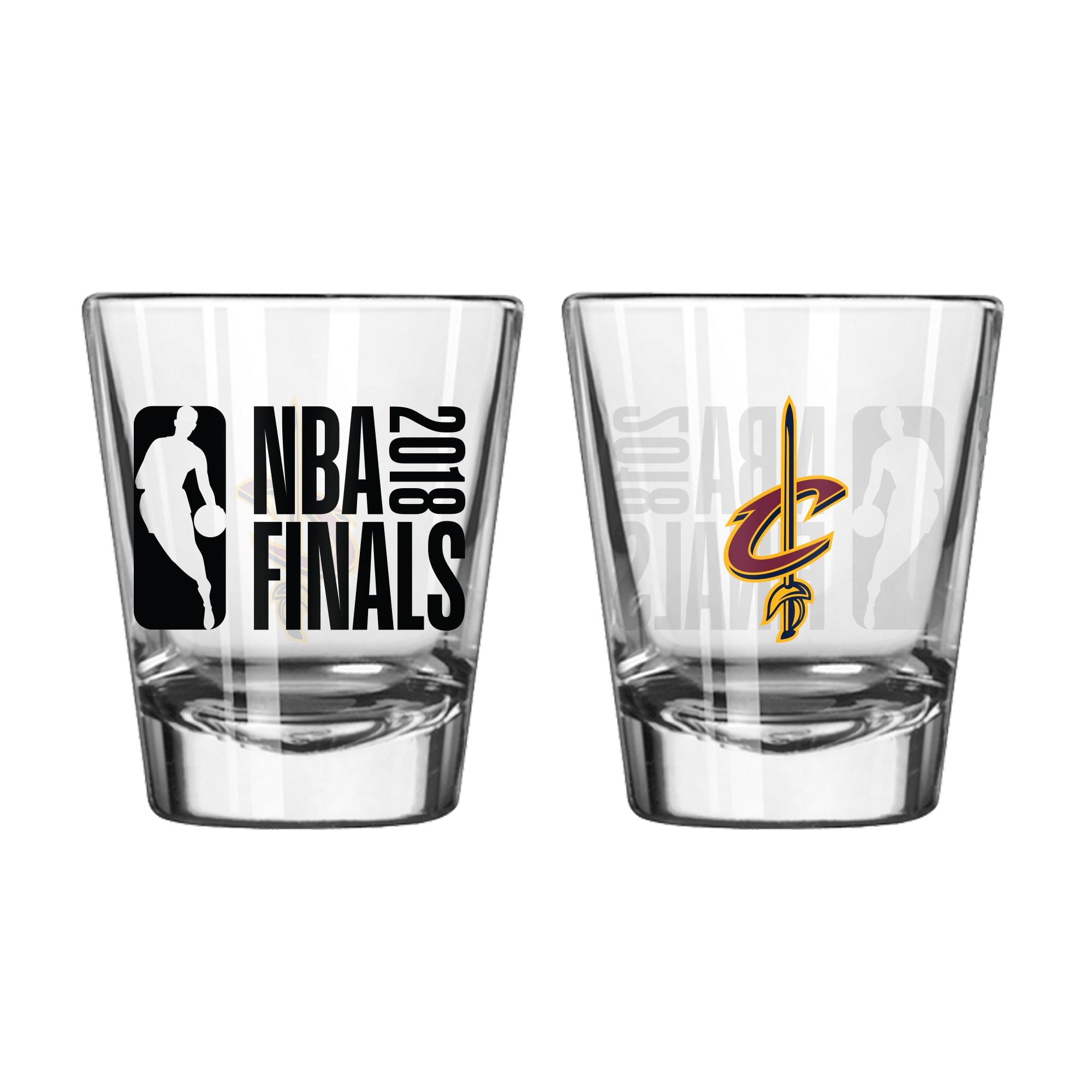 Cleveland Cavaliers 2018 NBA Finals Bound 2oz. Shot Glass