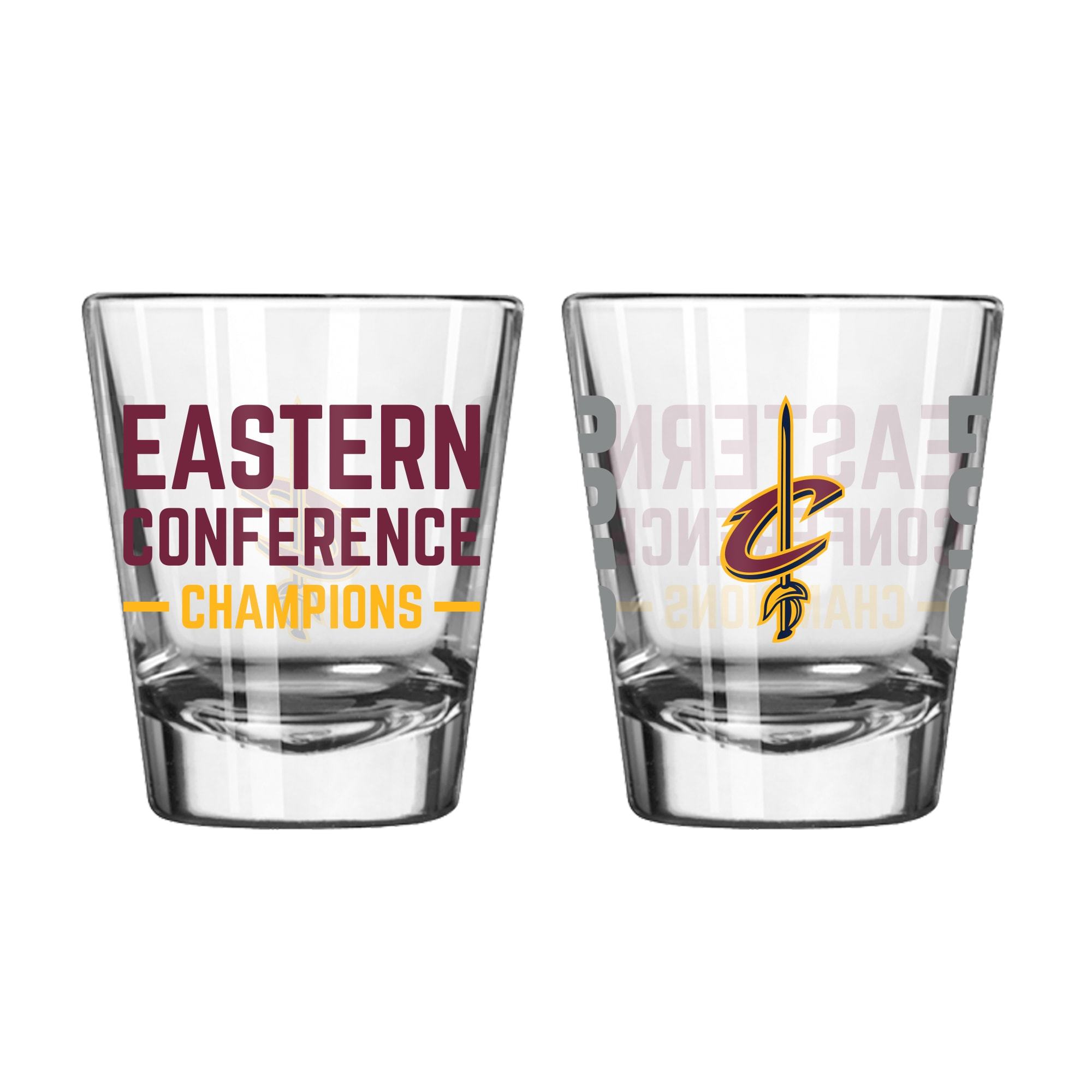 Cleveland Cavaliers 2018 Eastern Conference Champions 2oz. Shot Glass