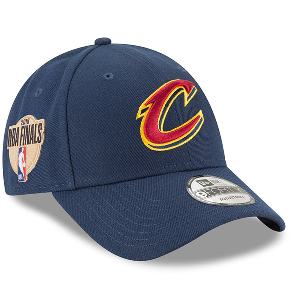 Cleveland Cavaliers New Era 2018 Eastern Conference Champions Side Patch 9FORTY Adjustable Hat - Navy