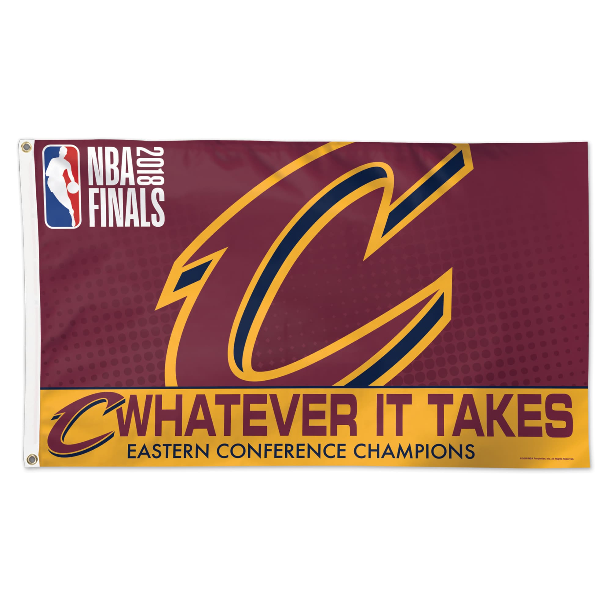 Cleveland Cavaliers WinCraft 2018 Eastern Conference Champions 3' x 5' 1-Sided Flag