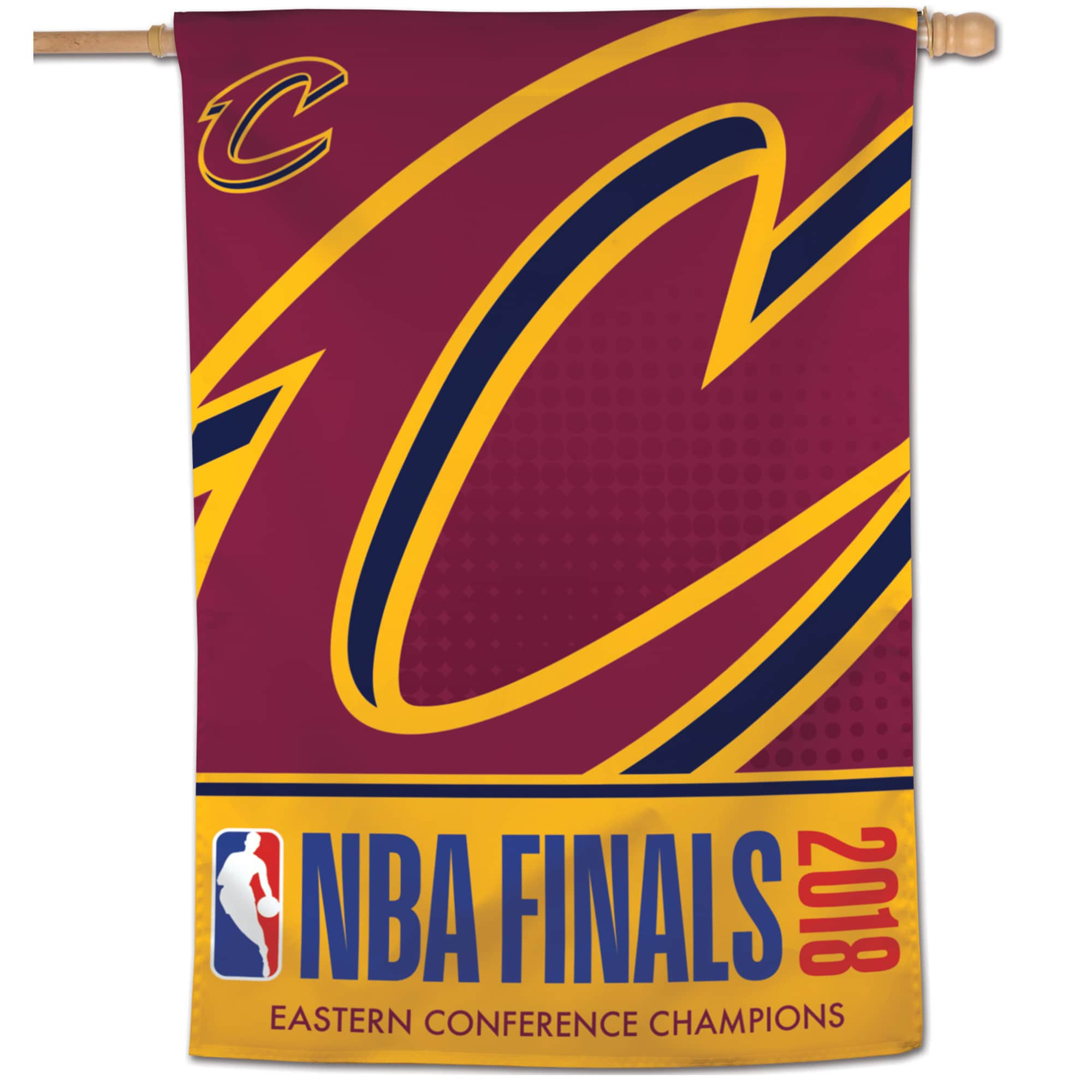 """Cleveland Cavaliers WinCraft 2018 Eastern Conference Champions 28"""" x 40"""" 1-Sided Banner"""