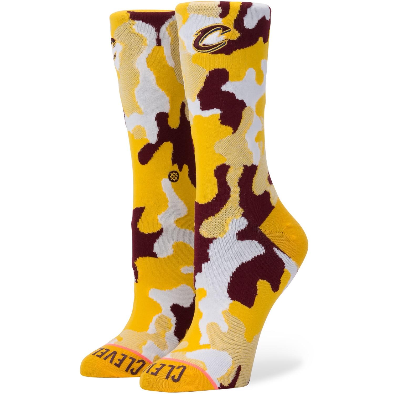 Cleveland Cavaliers Stance Women's Camo Crew Socks