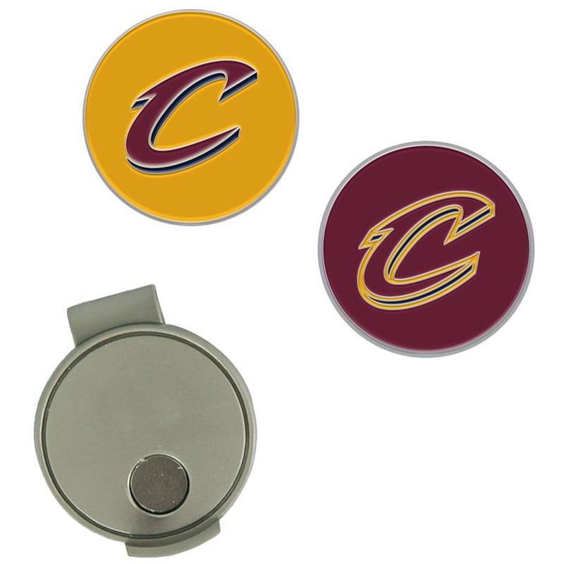 Cleveland Cavaliers Hat Clip & Ball Markers Set