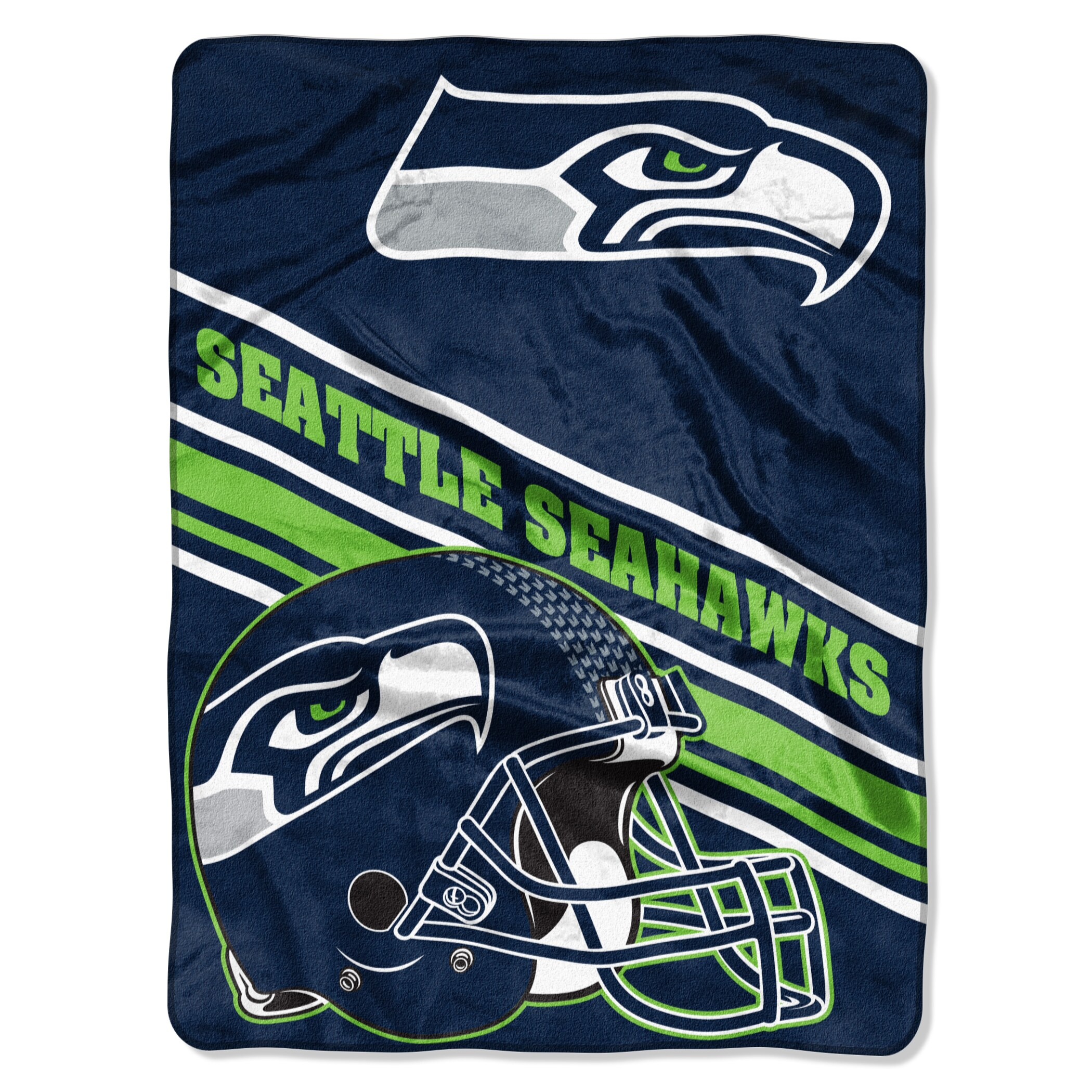 Seattle Seahawks The Northwest Company 60'' x 80'' Slant Rashcel Throw