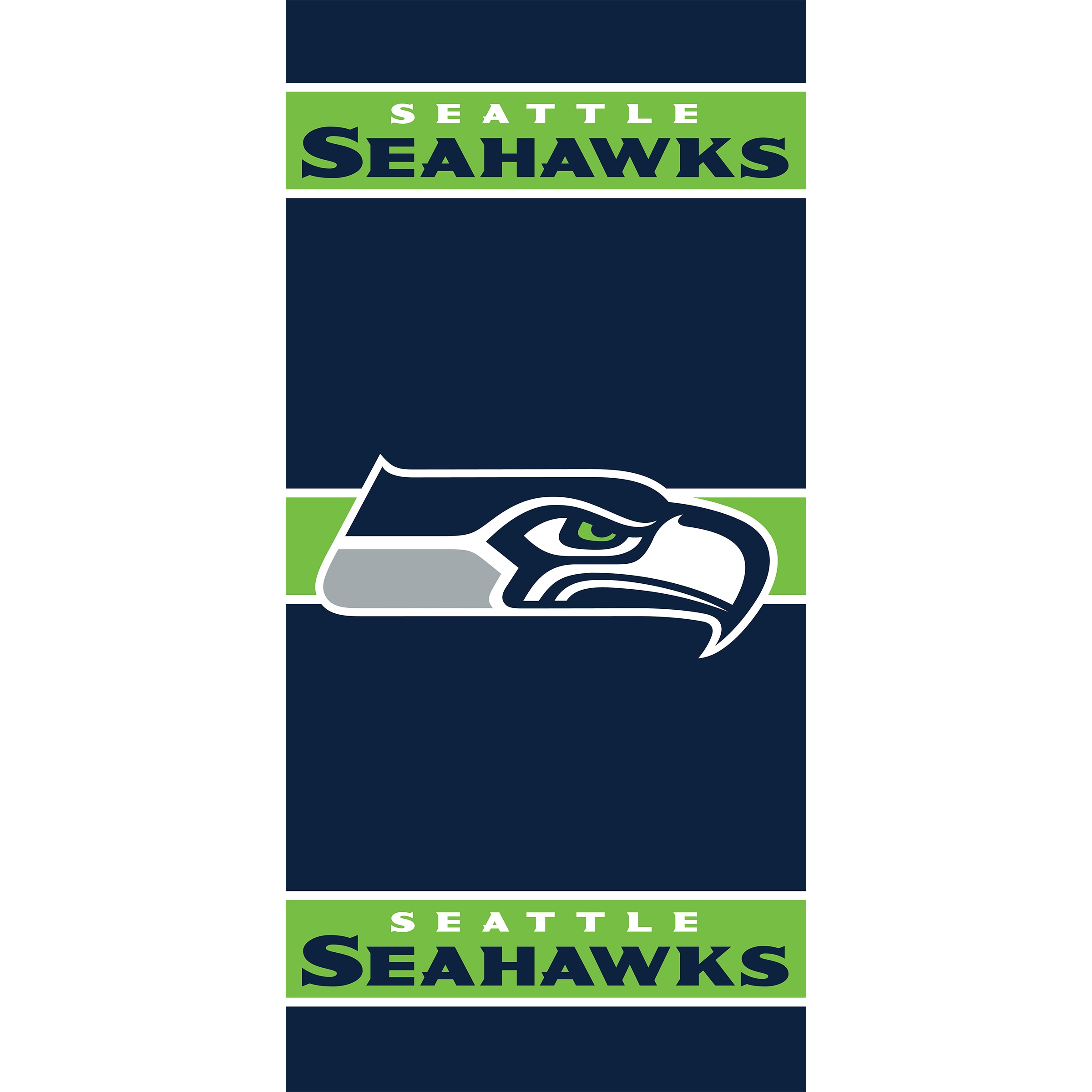 Seattle Seahawks Imperial 36'' x 80'' Front Door Cover