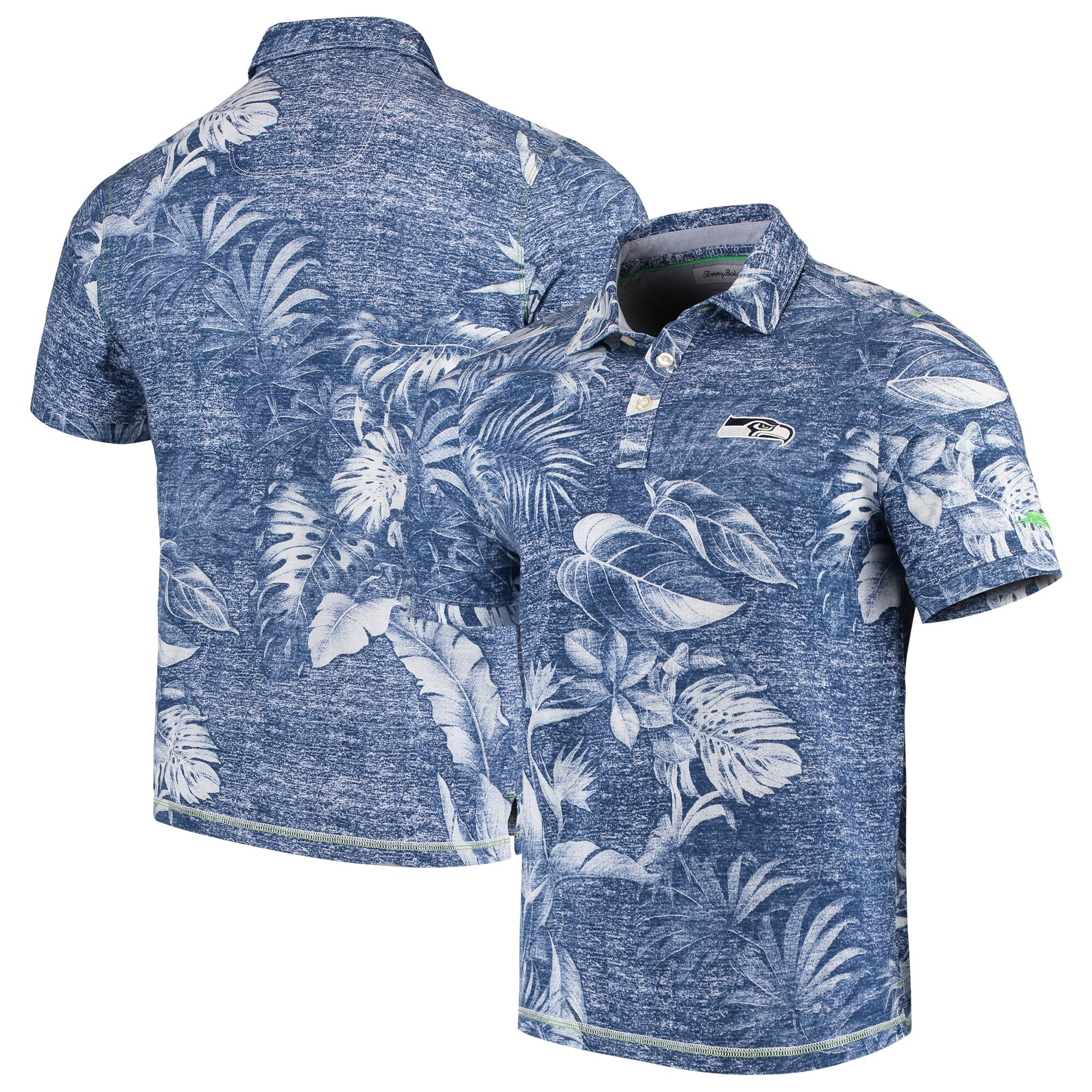 Seattle Seahawks Tommy Bahama Parque Polo - College Navy