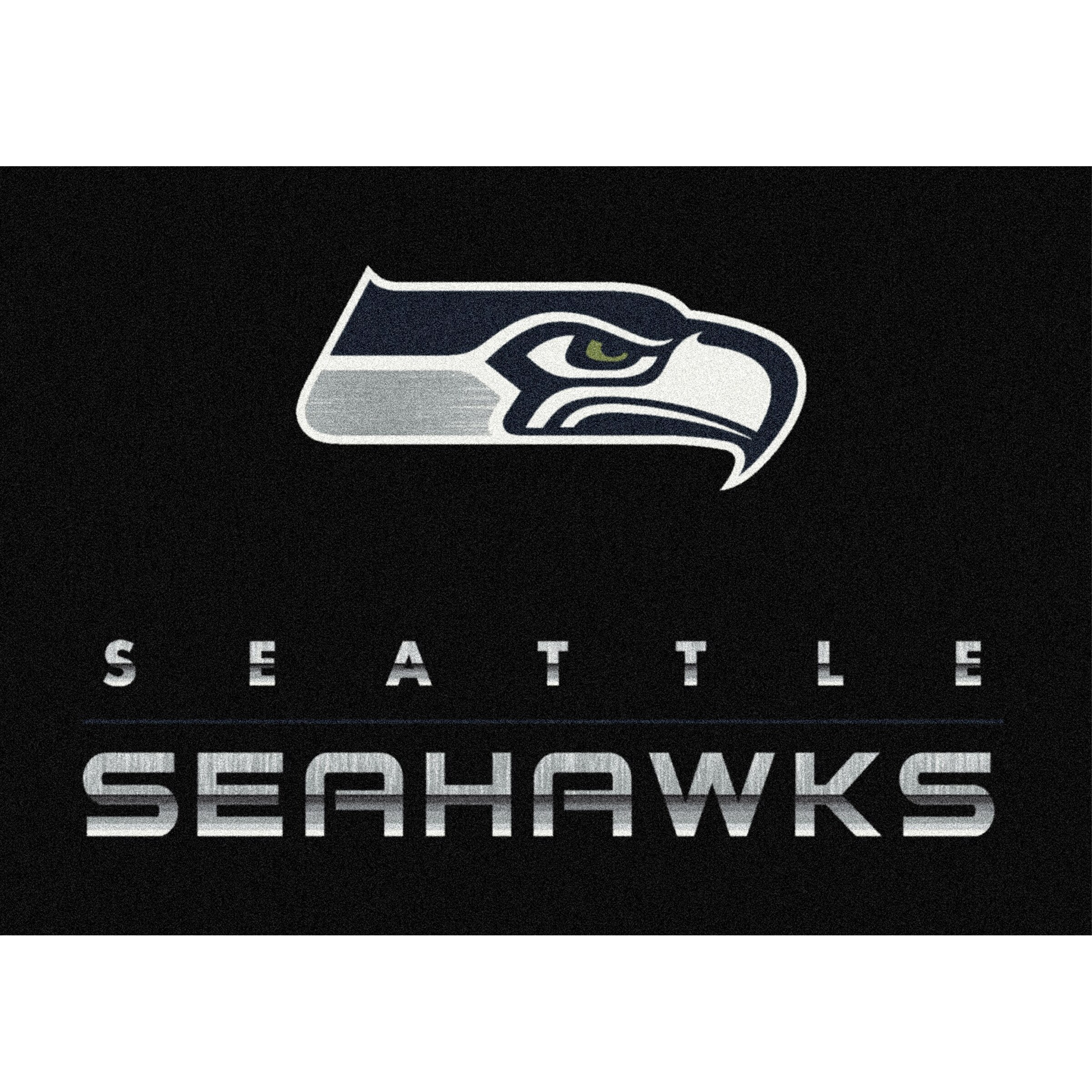 Seattle Seahawks Imperial 3'10'' x 5'4'' Chrome Rug