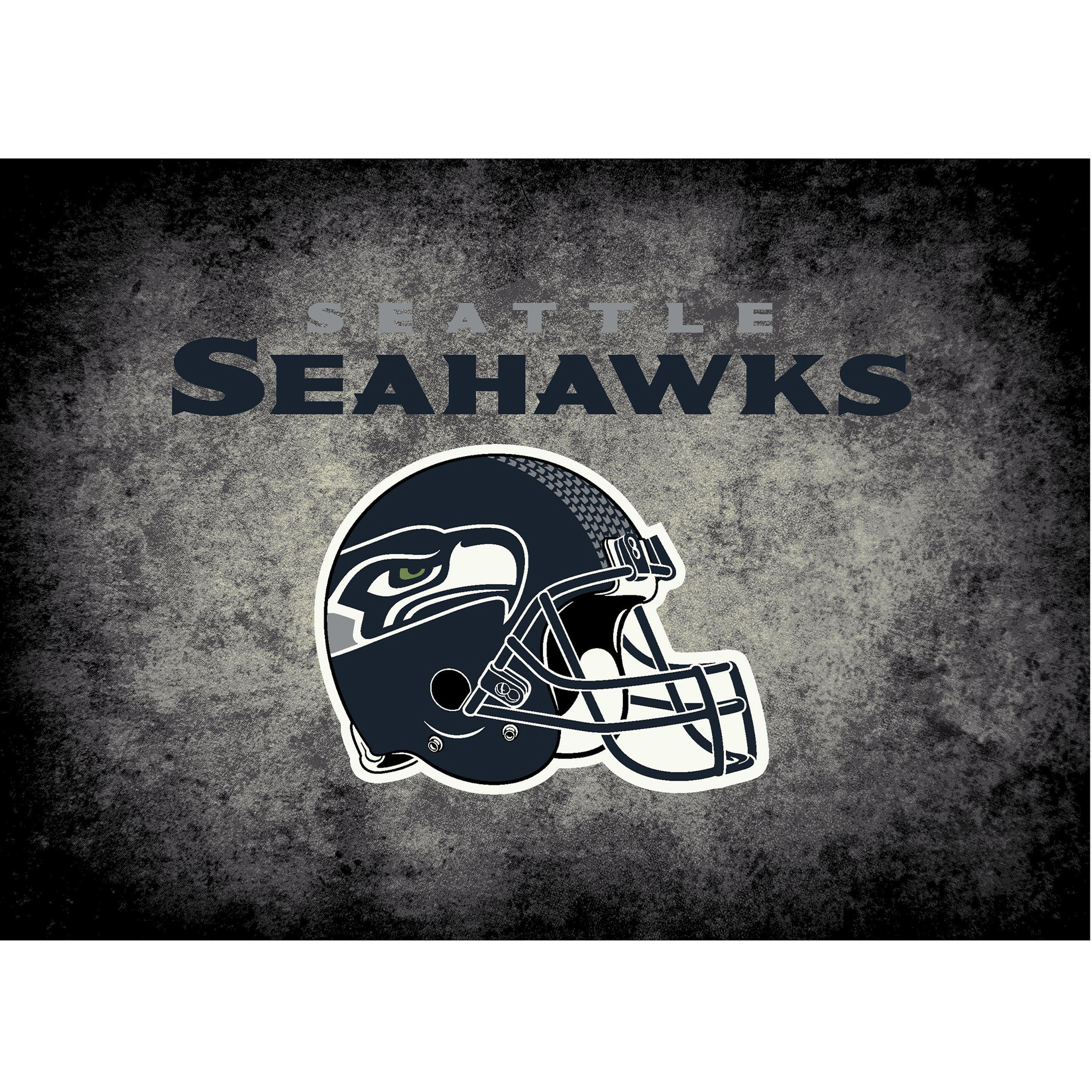Seattle Seahawks Imperial 6' x 8' Distressed Rug