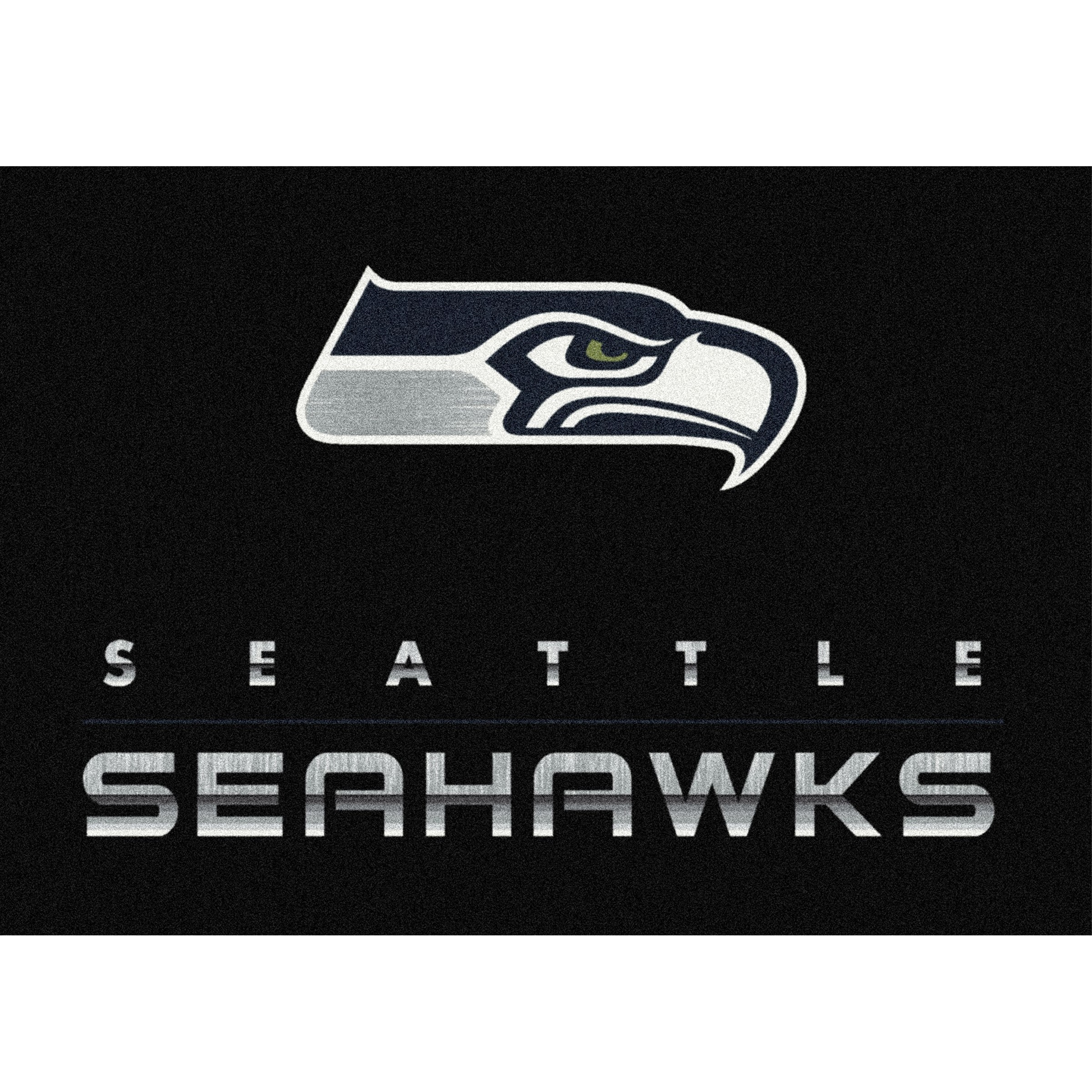 Seattle Seahawks Imperial 8' x 11' Chrome Rug