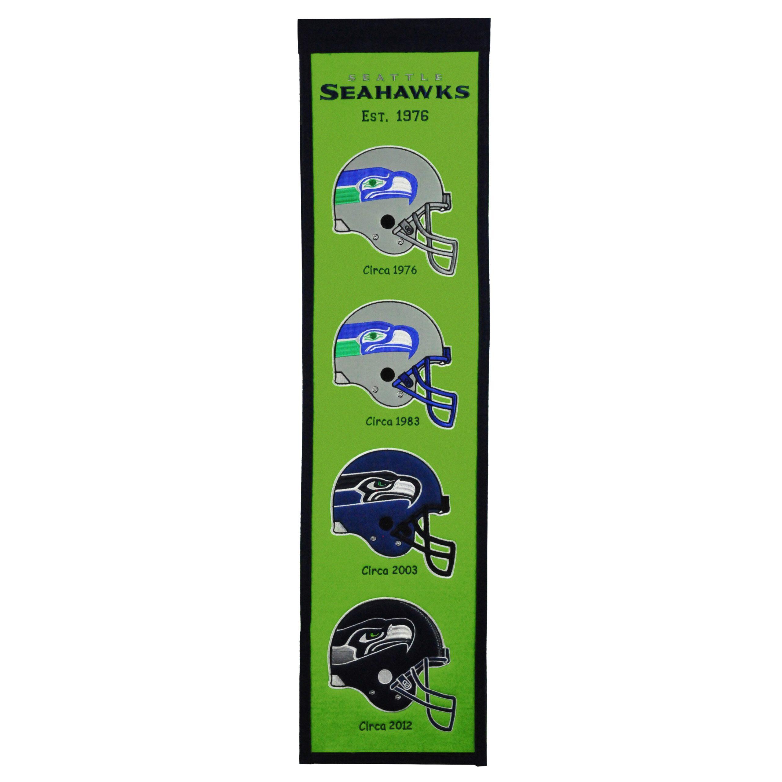 """Seattle Seahawks 8"""" x 32"""" Fan Favorite Banner"""