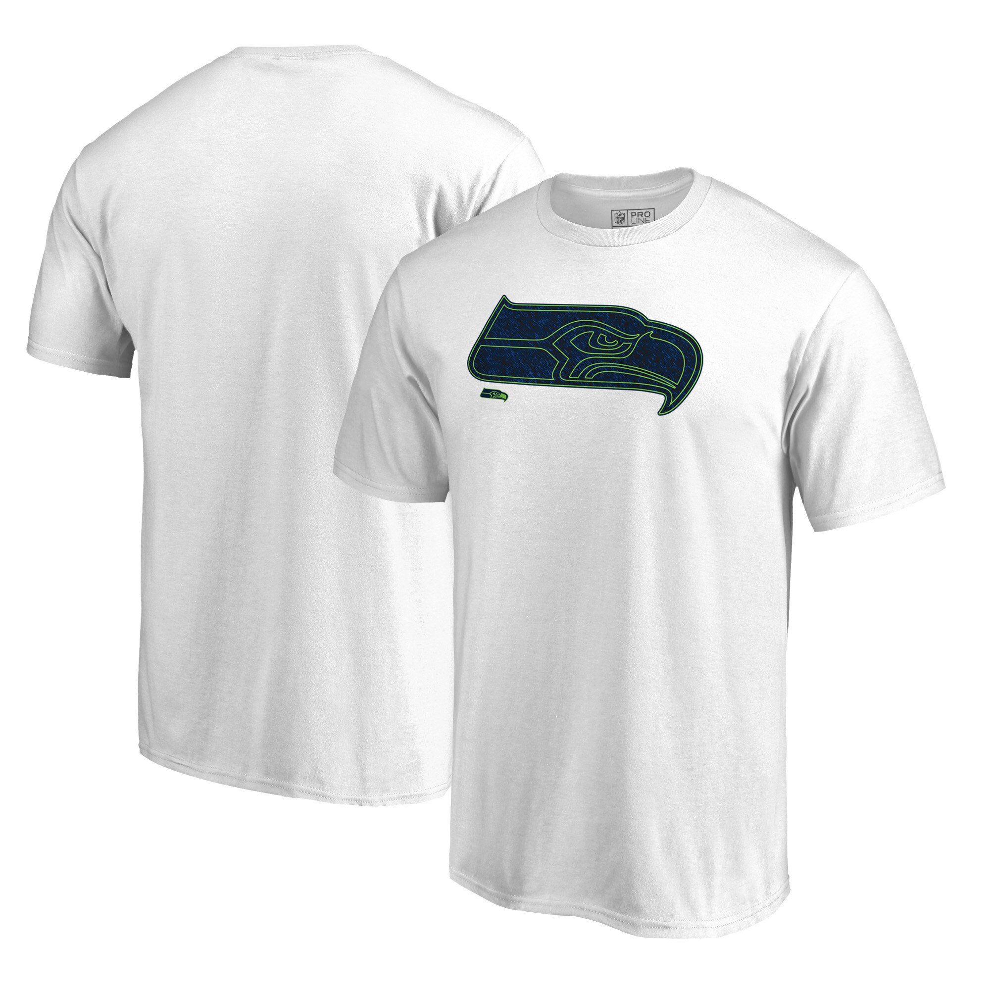 Seattle Seahawks NFL Pro Line by Fanatics Branded Training Camp Hookup T-Shirt - White