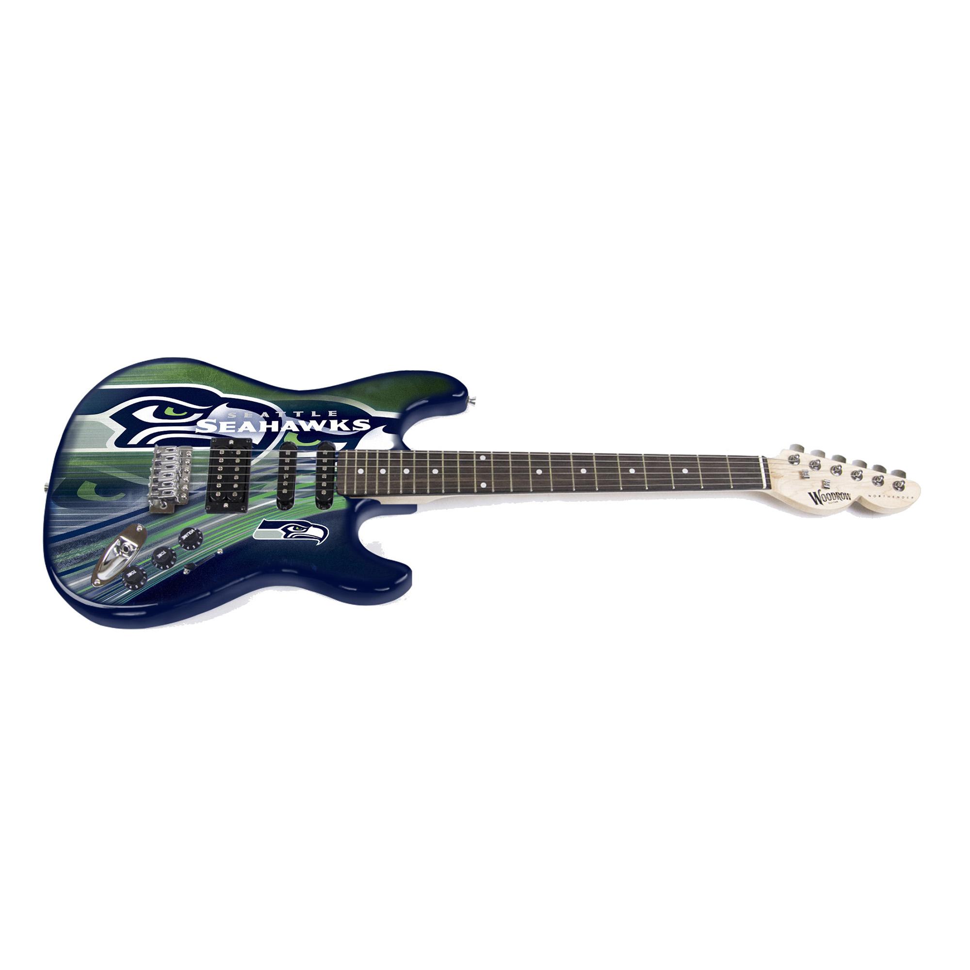 Seattle Seahawks Woodrow NorthEnder Guitar Series II