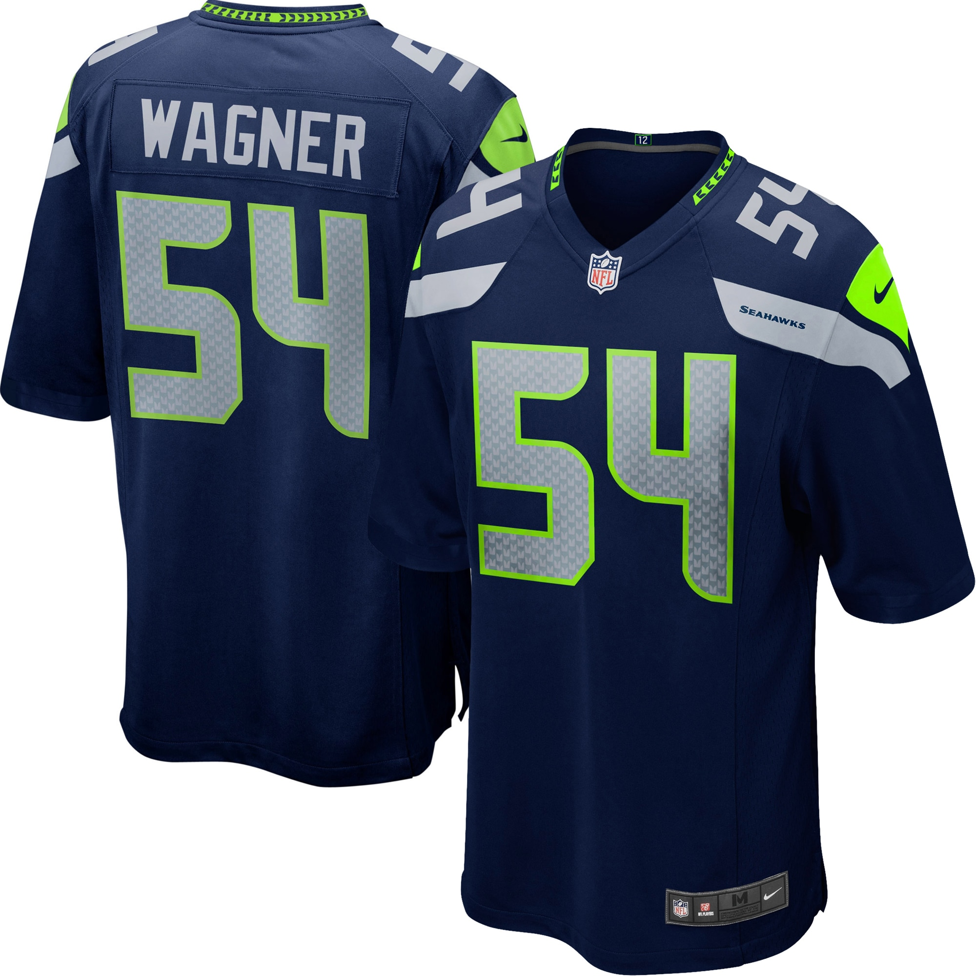 Bobby Wagner Seattle Seahawks Nike Youth Team Color Game Jersey - College Navy