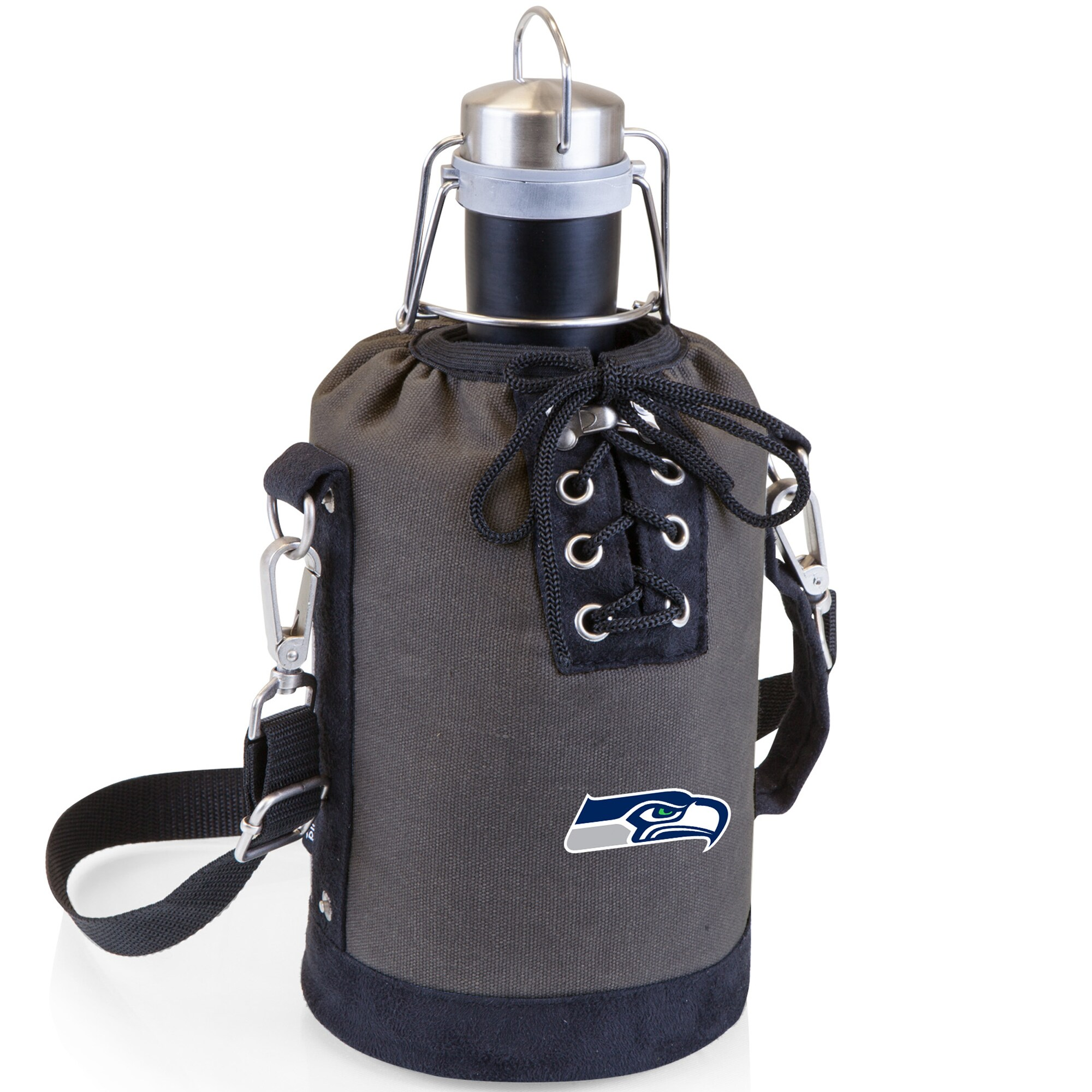 Seattle Seahawks Growler Tote Set