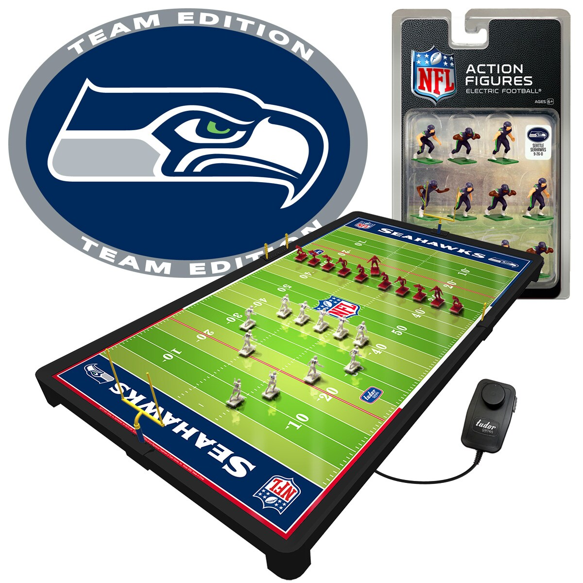 Seattle Seahawks Deluxe Electric Football Game