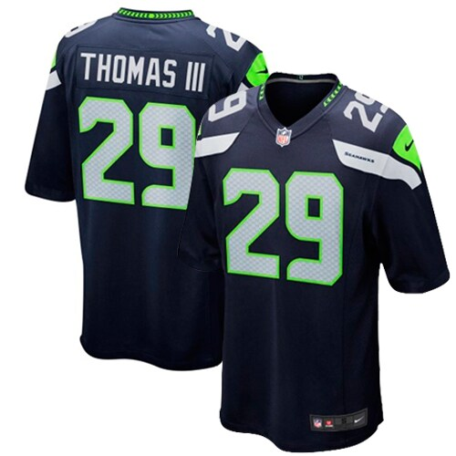 Earl Thomas Seattle Seahawks Nike Youth Team Color Game Jersey - College Navy