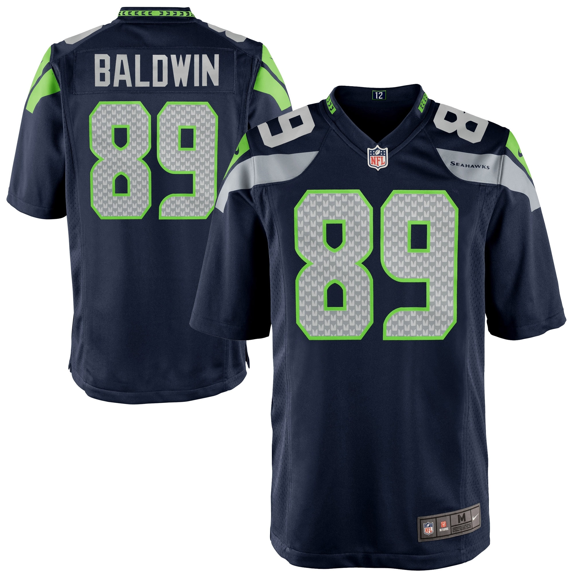 Doug Baldwin Seattle Seahawks Nike Youth Team Color Game Jersey - College Navy
