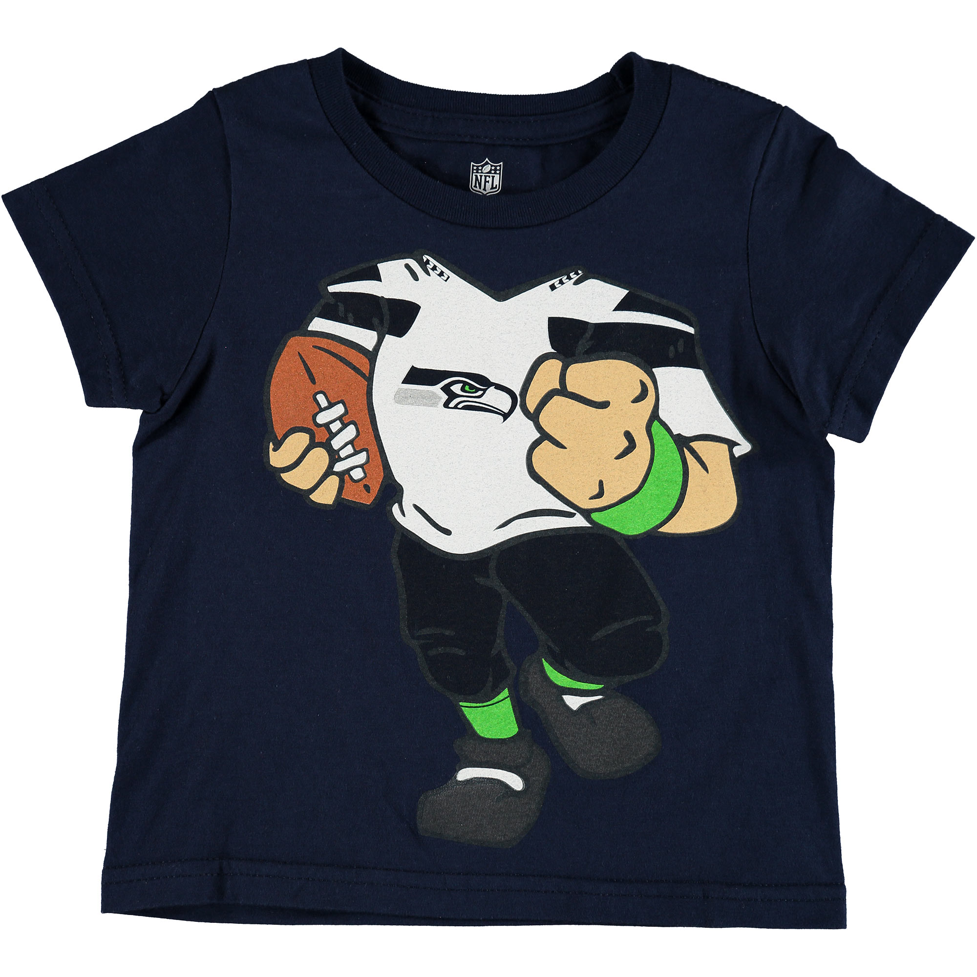 Seattle Seahawks Toddler Football Dreams T-Shirt - College Navy