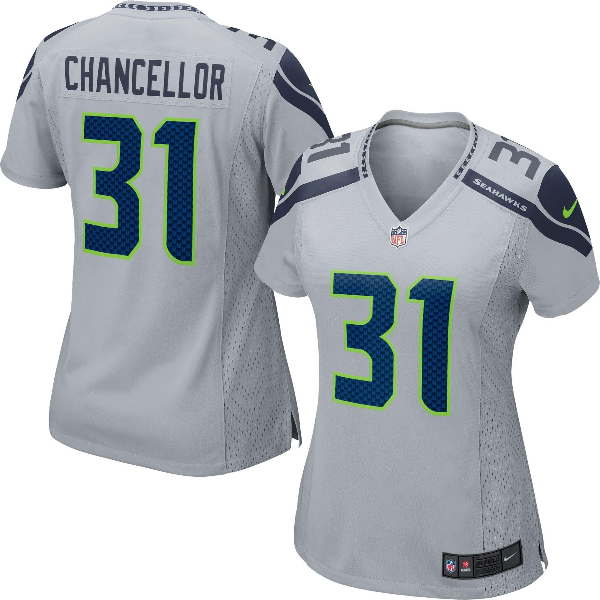 Kam Chancellor Seattle Seahawks Nike Women's Game Jersey - Gray