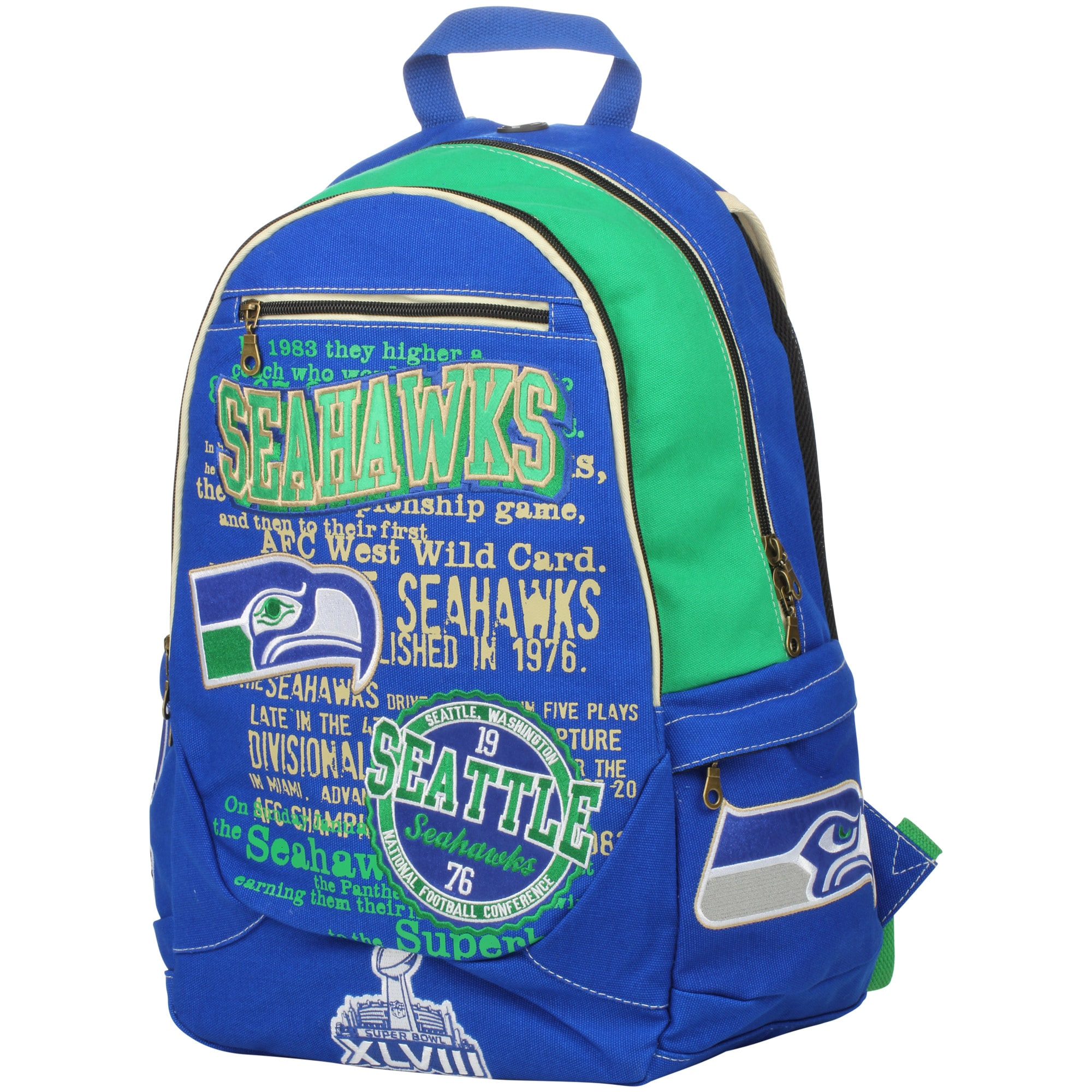 Seattle Seahawks Historic Backpack