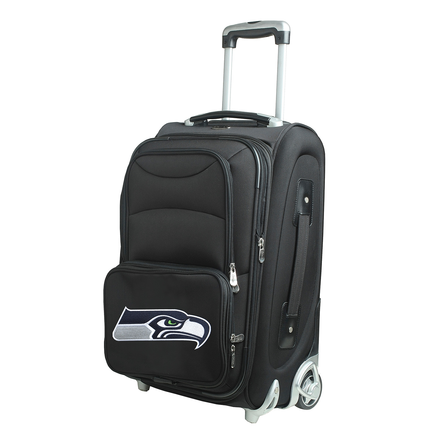 """Seattle Seahawks 21"""" Rolling Carry-On Suitcase"""