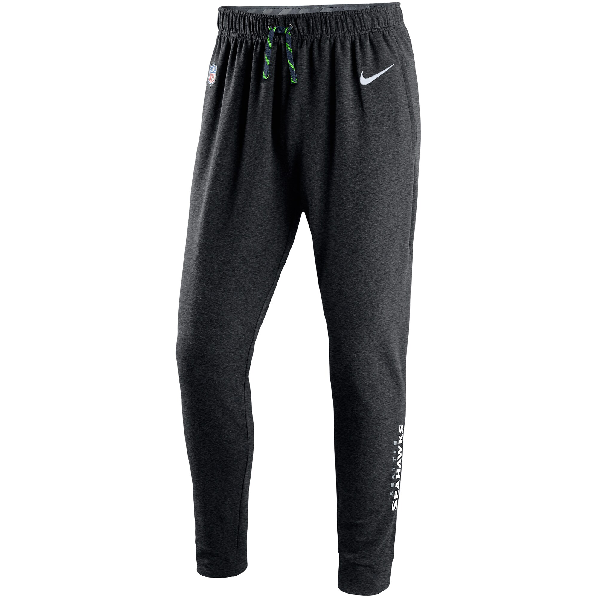 Seattle Seahawks Nike Touch Fleece Performance Pants - Charcoal