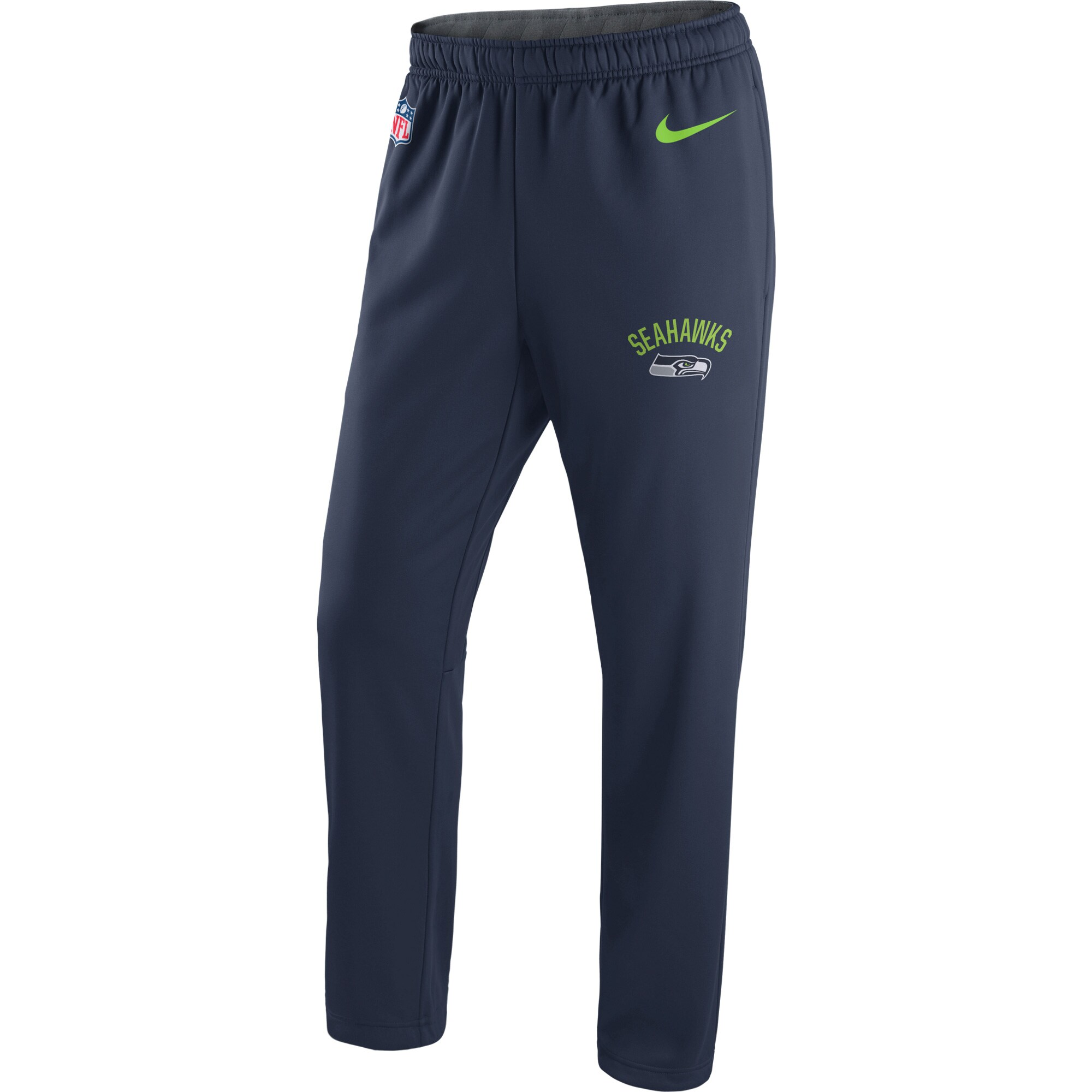 Seattle Seahawks Nike Circuit Sideline Performance Pants - College Navy