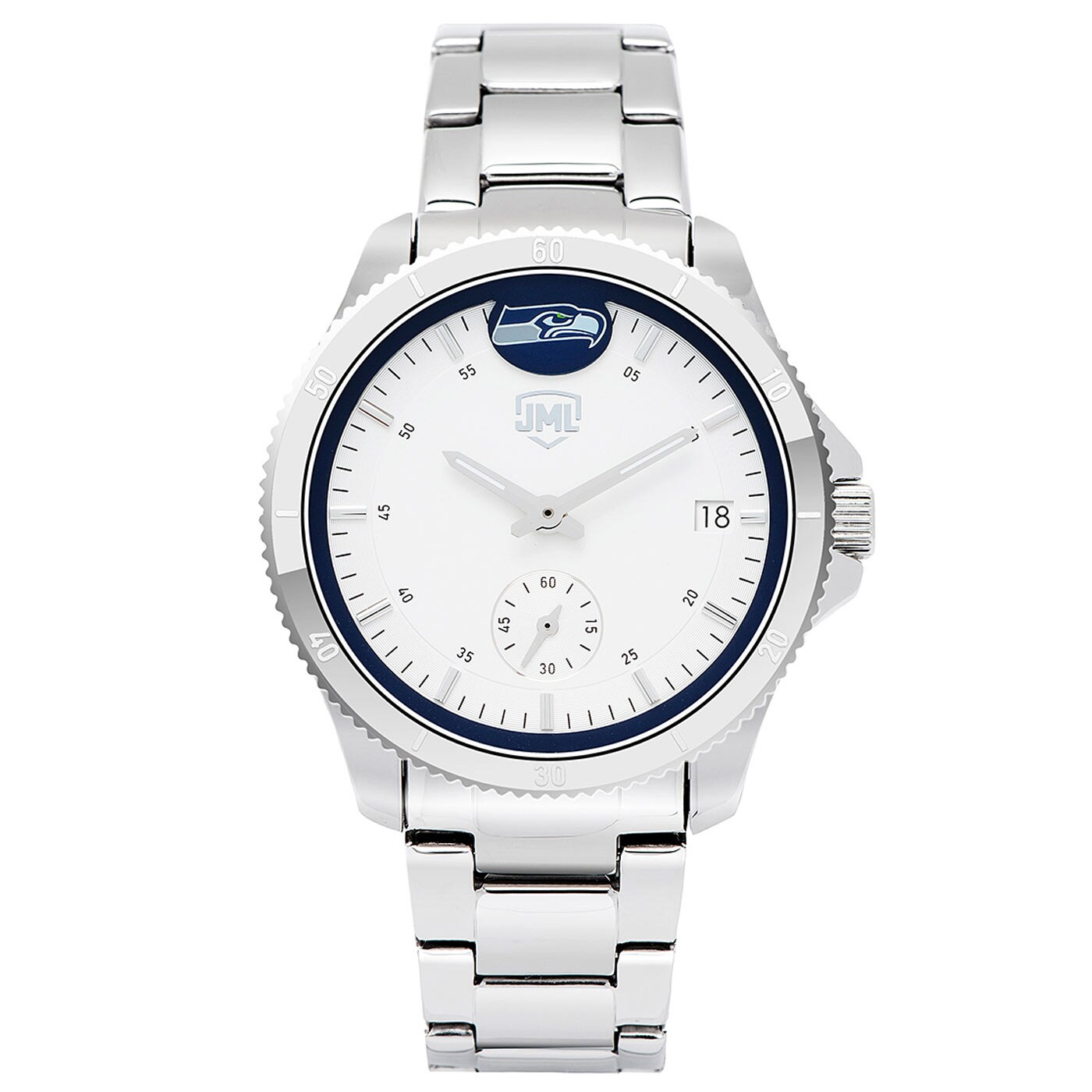 Seattle Seahawks Women's Legacy 3 Hand Watch