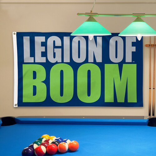 Seattle Seahawks WinCraft 3' x 5' Legion of Boom Deluxe Flag