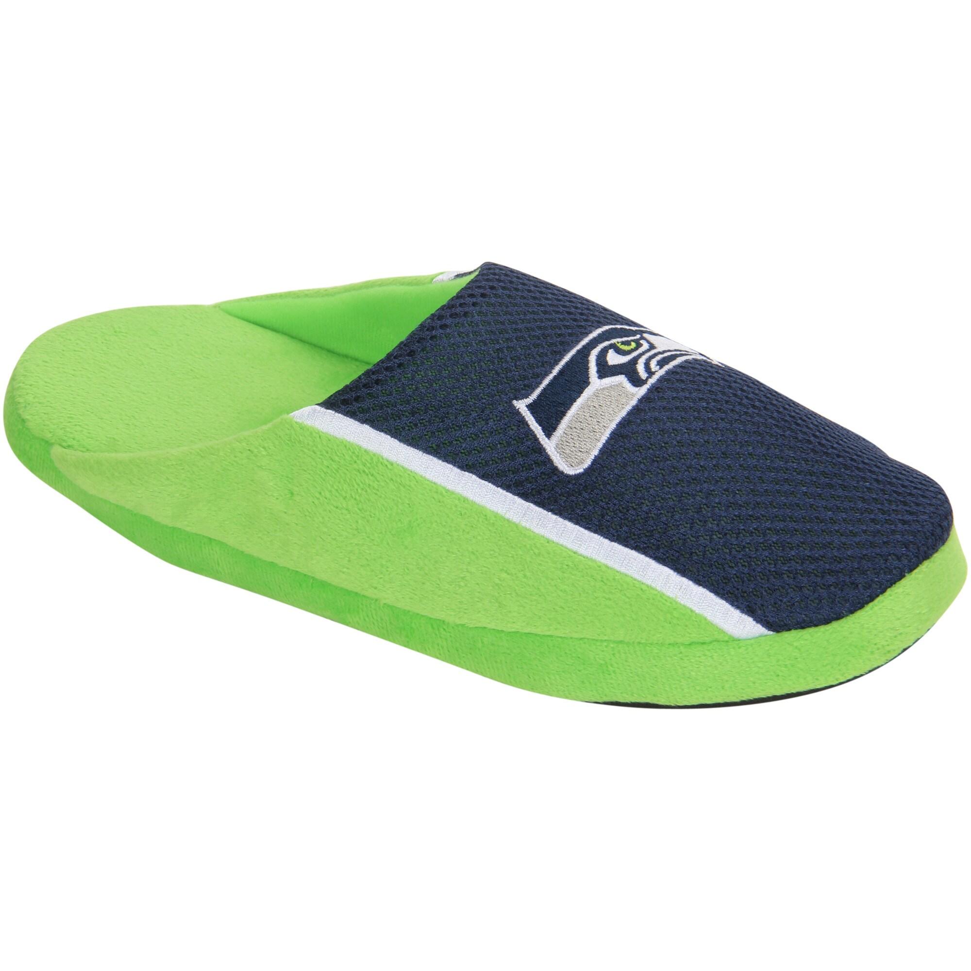 Seattle Seahawks Jersey Slide Slippers