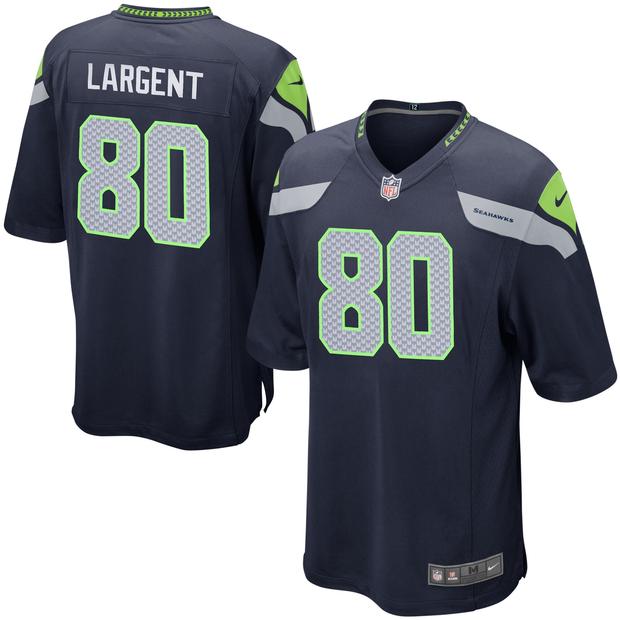 Steve Largent Seattle Seahawks Nike Youth Retired Game Jersey - College Navy