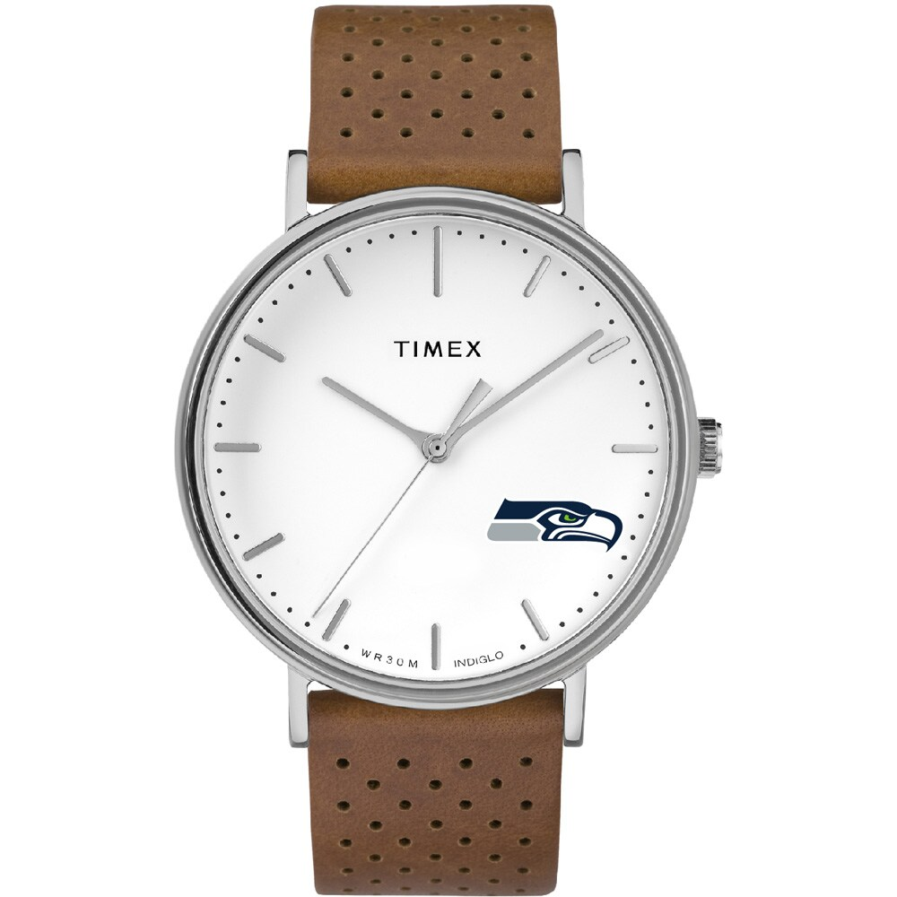 Seattle Seahawks Timex Bright Whites Tribute Collection Watch