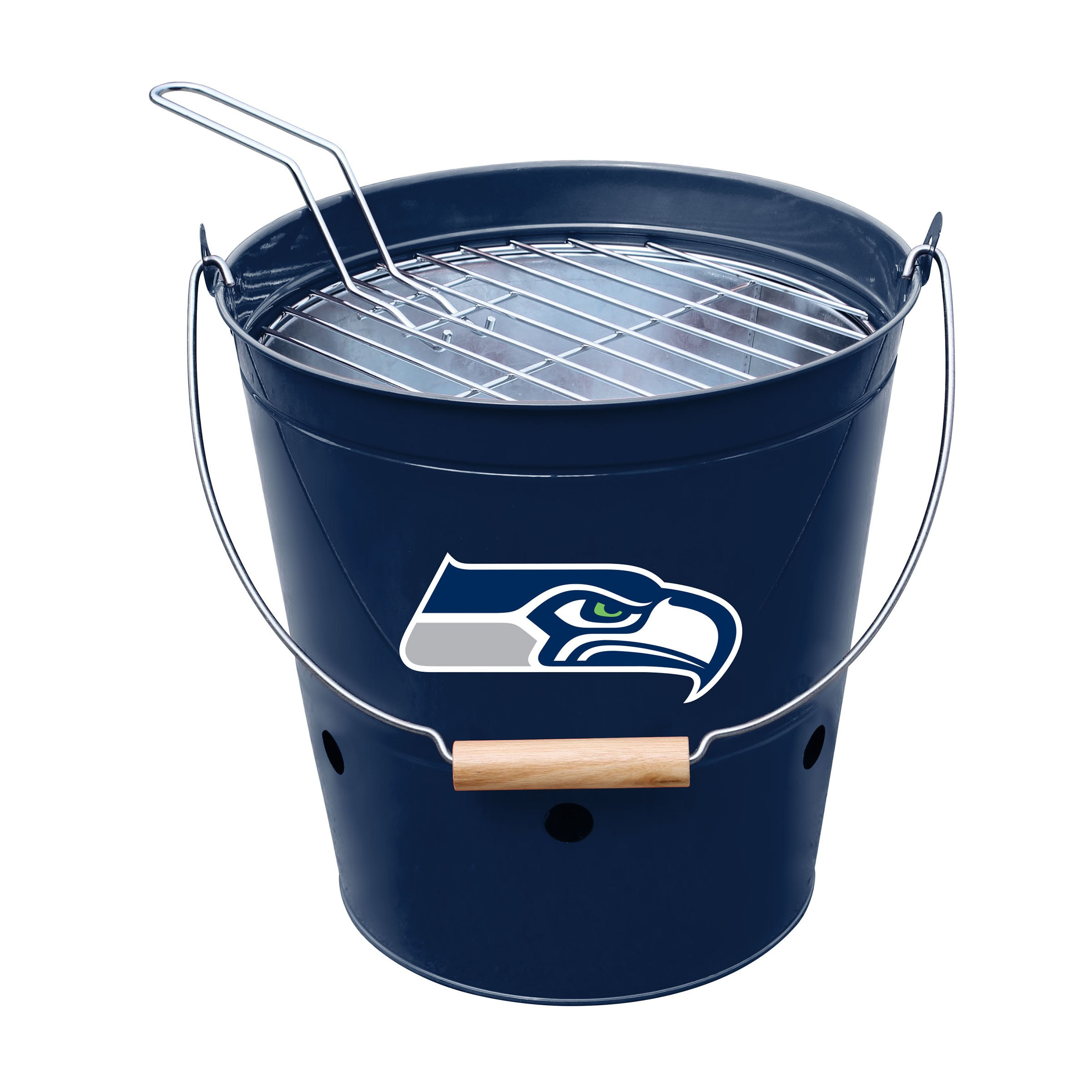 Seattle Seahawks Imperial Bucket Grill - Blue