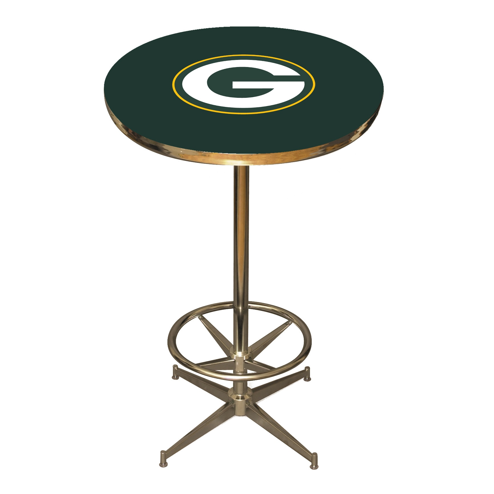 Green Bay Packers Pub Table - Green