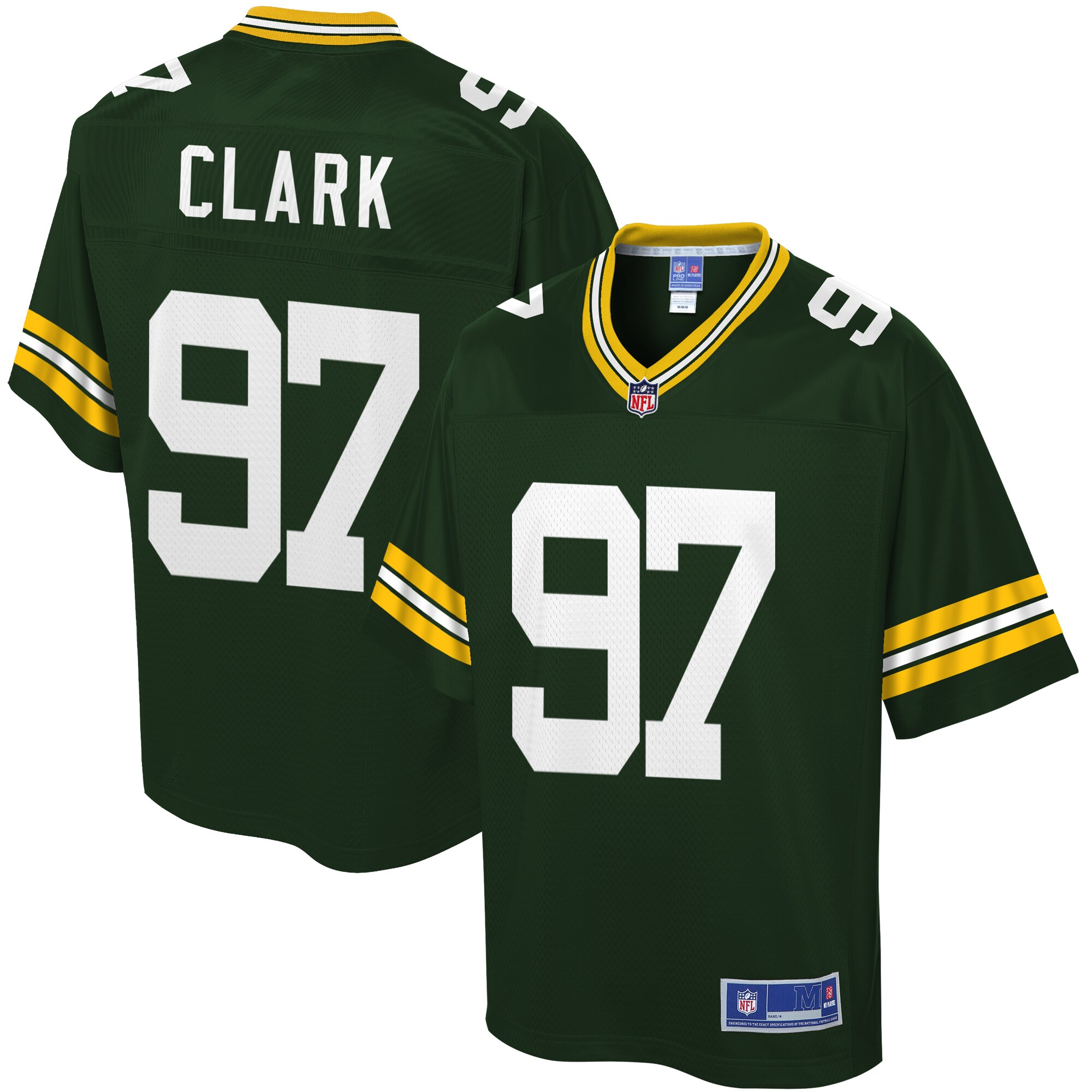 Kenny Clark Green Bay Packers NFL Pro Line Youth Player Jersey - Green