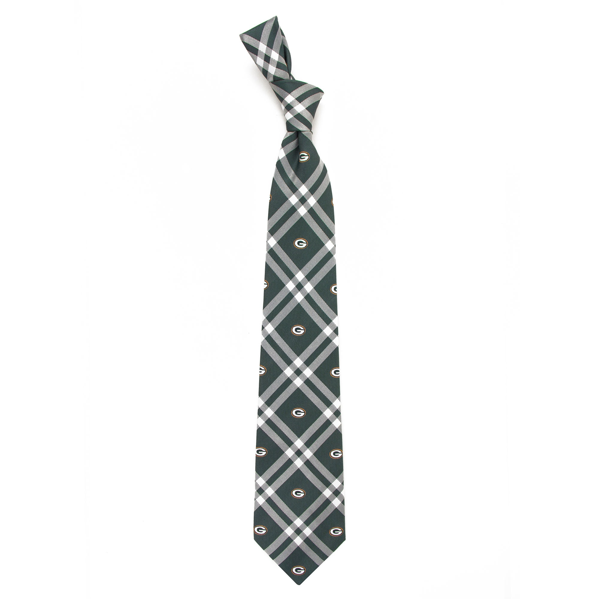 Green Bay Packers Rhodes Tie - Green