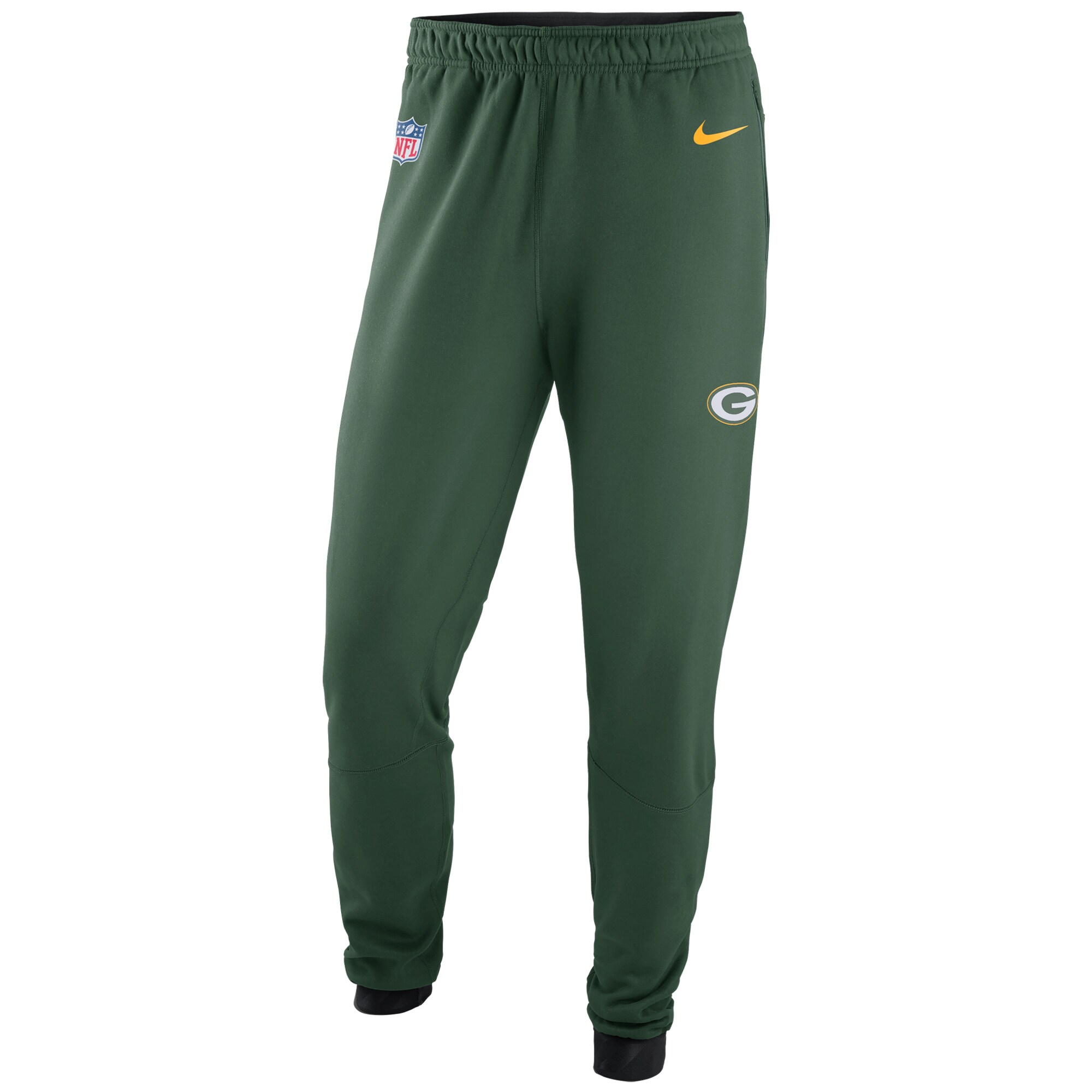 Green Bay Packers Nike Sideline Player Therma Pants - Green