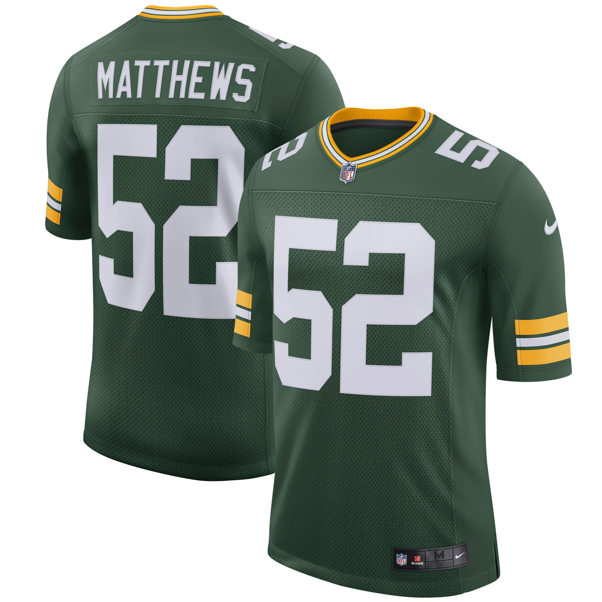 Clay Matthews Green Bay Packers Nike Youth Classic Limited Player Jersey - Green