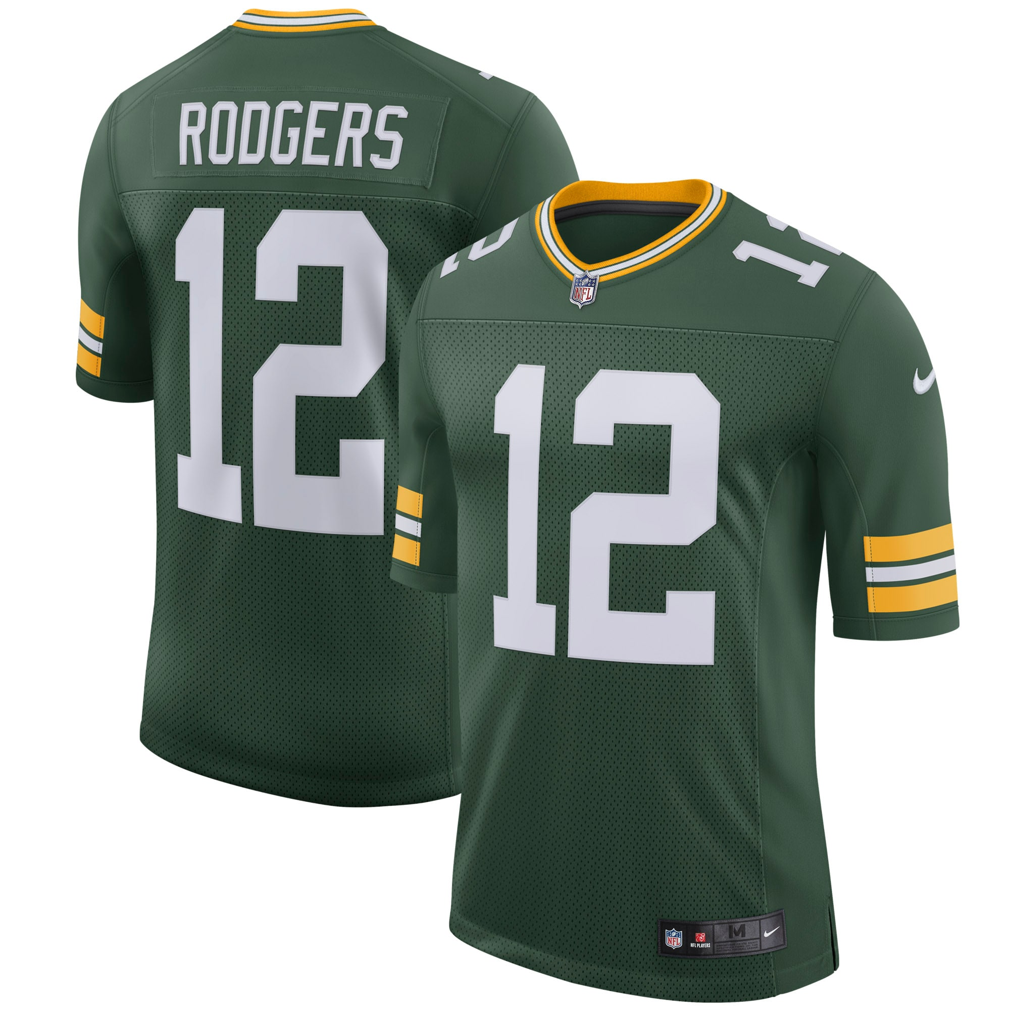 Aaron Rodgers Green Bay Packers Nike Youth Classic Limited Player Jersey - Green