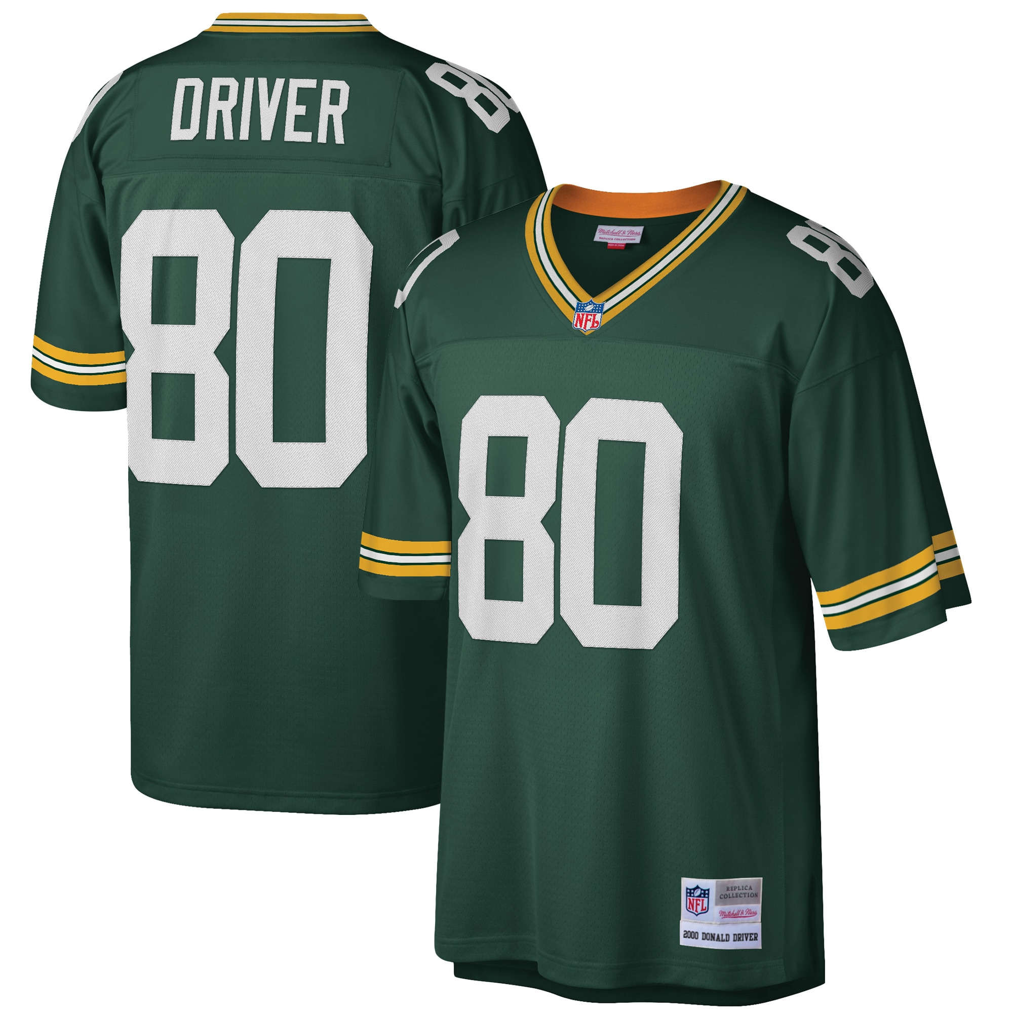 Donald Driver Green Bay Packers Mitchell & Ness Retired Player Legacy Replica Jersey - Green