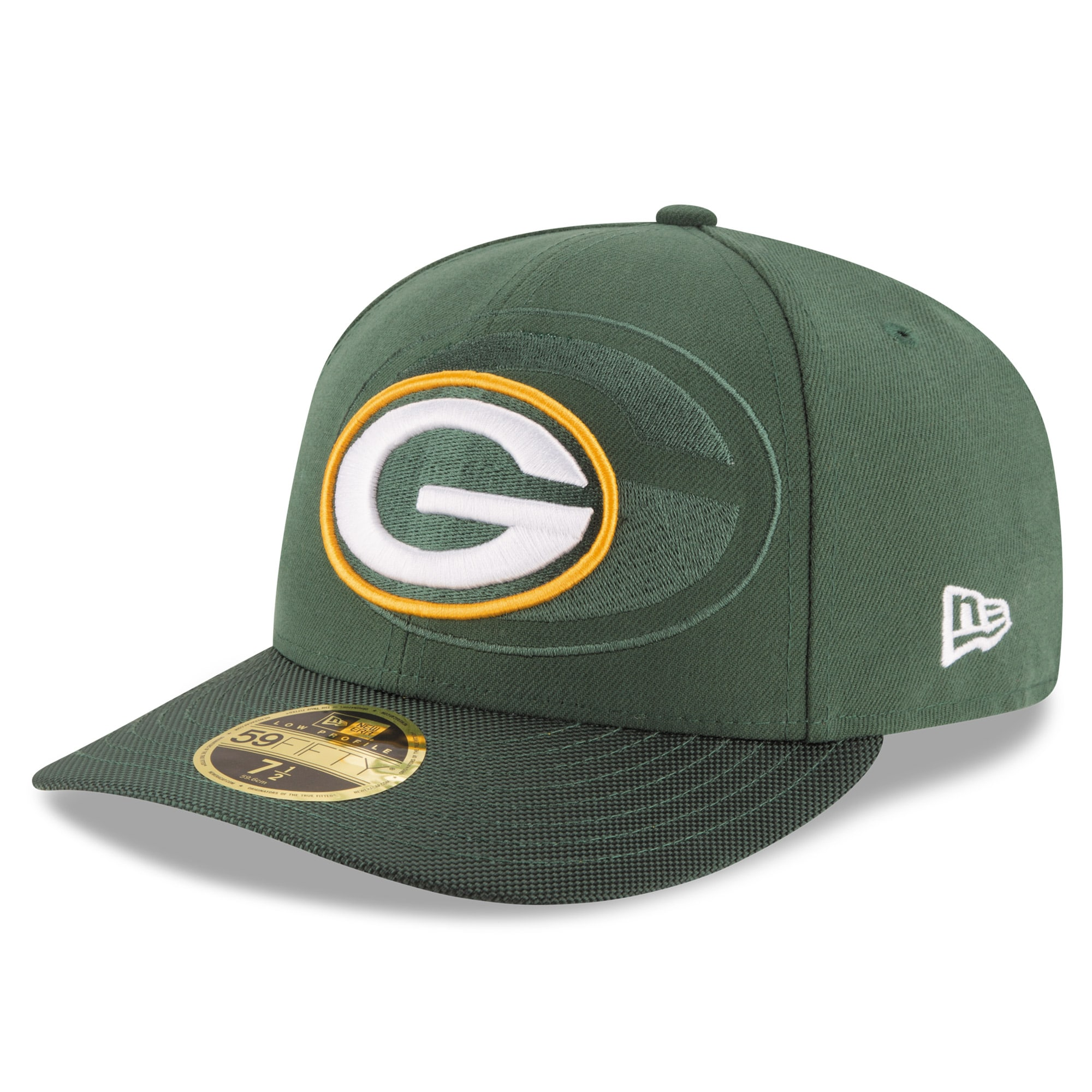 Green Bay Packers New Era 2016 Sideline Official Low Profile 59FIFTY Fitted Hat - Green