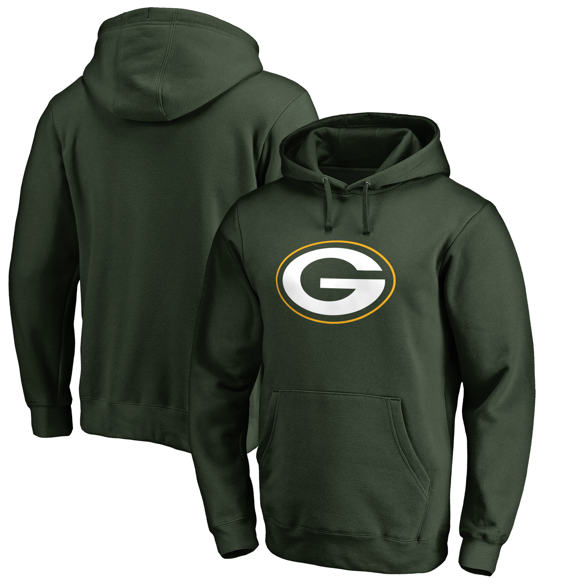 Green Bay Packers NFL Pro Line by Fanatics Branded Big & Tall Primary Logo Hoodie - Green