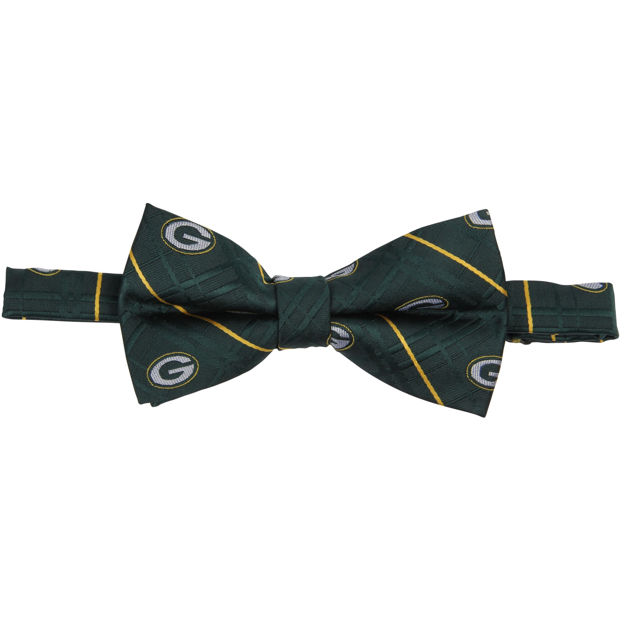Green Bay Packers Oxford Bow Tie - Green