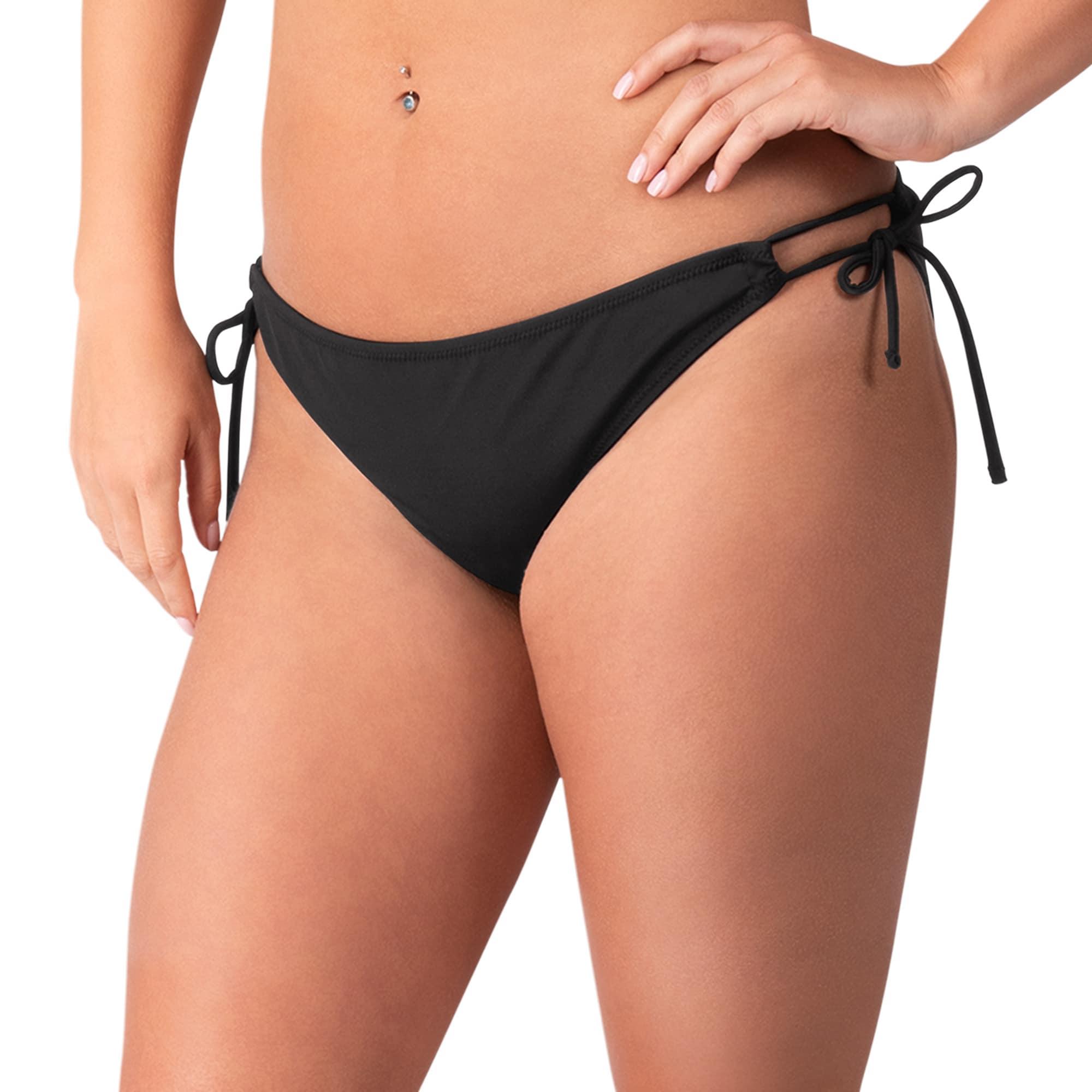 Green Bay Packers G-III 4Her by Carl Banks Women's Without Limits Bikini Bottom - Black
