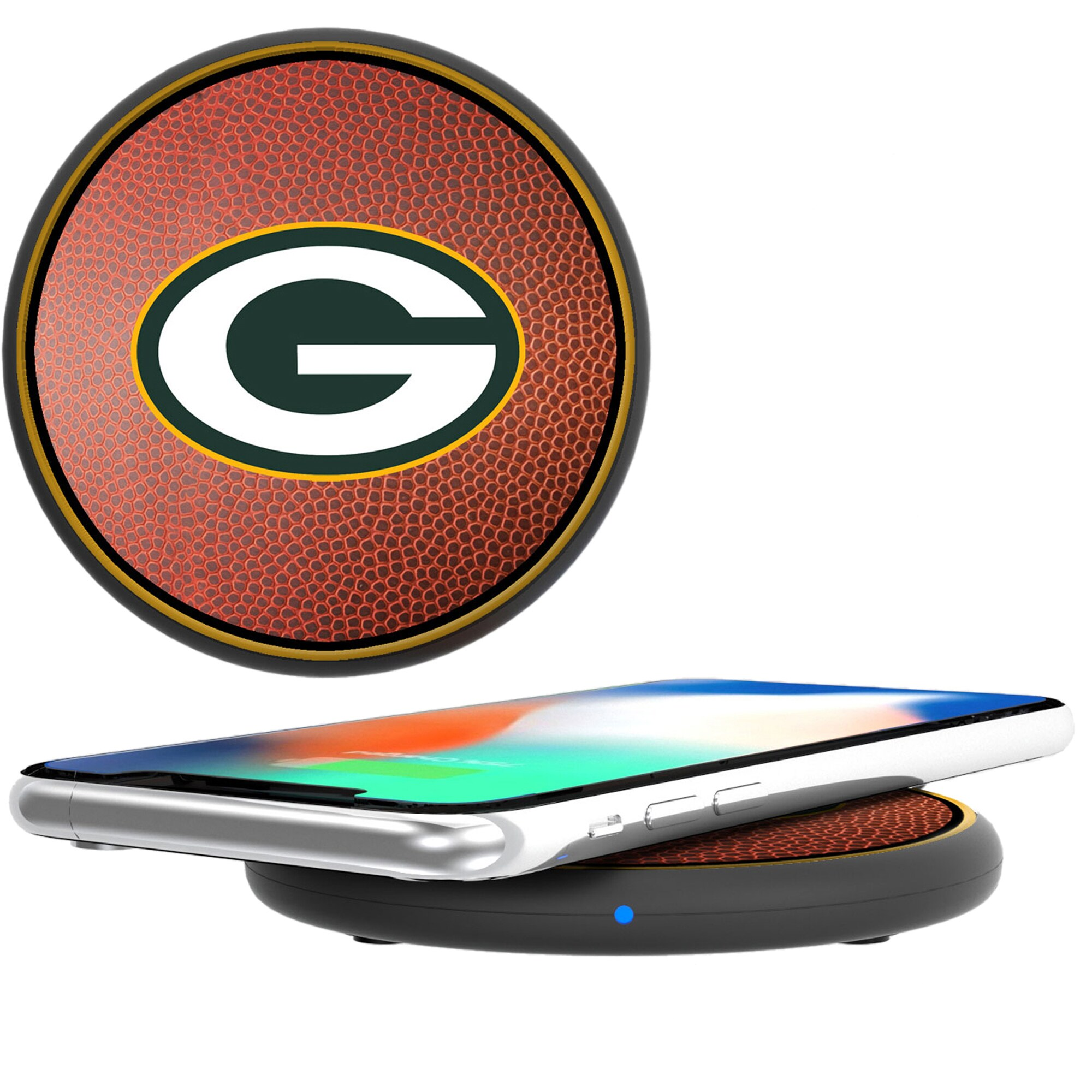 Green Bay Packers Wireless Cell Phone Charger