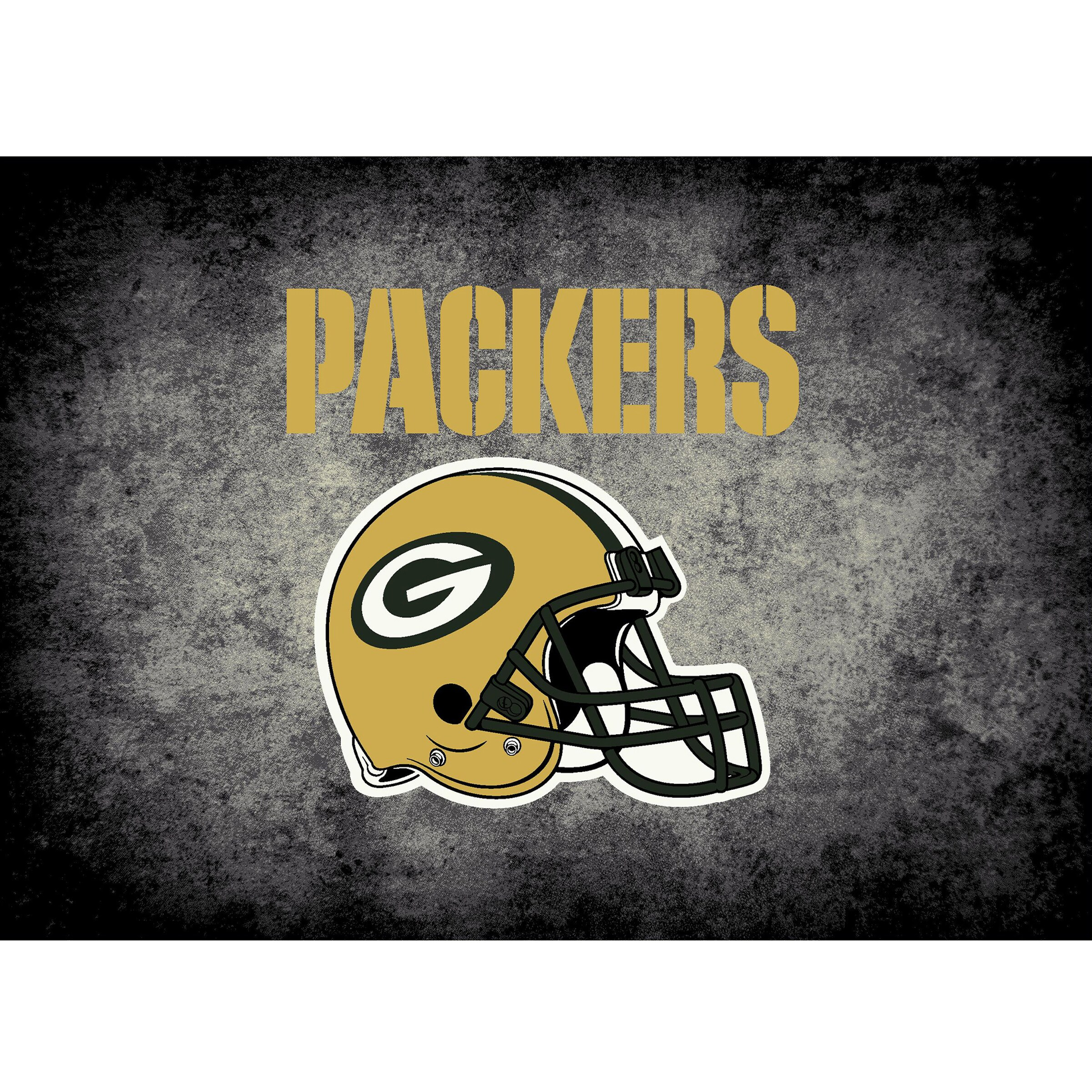 Green Bay Packers Imperial 4' x 6' Distressed Rug